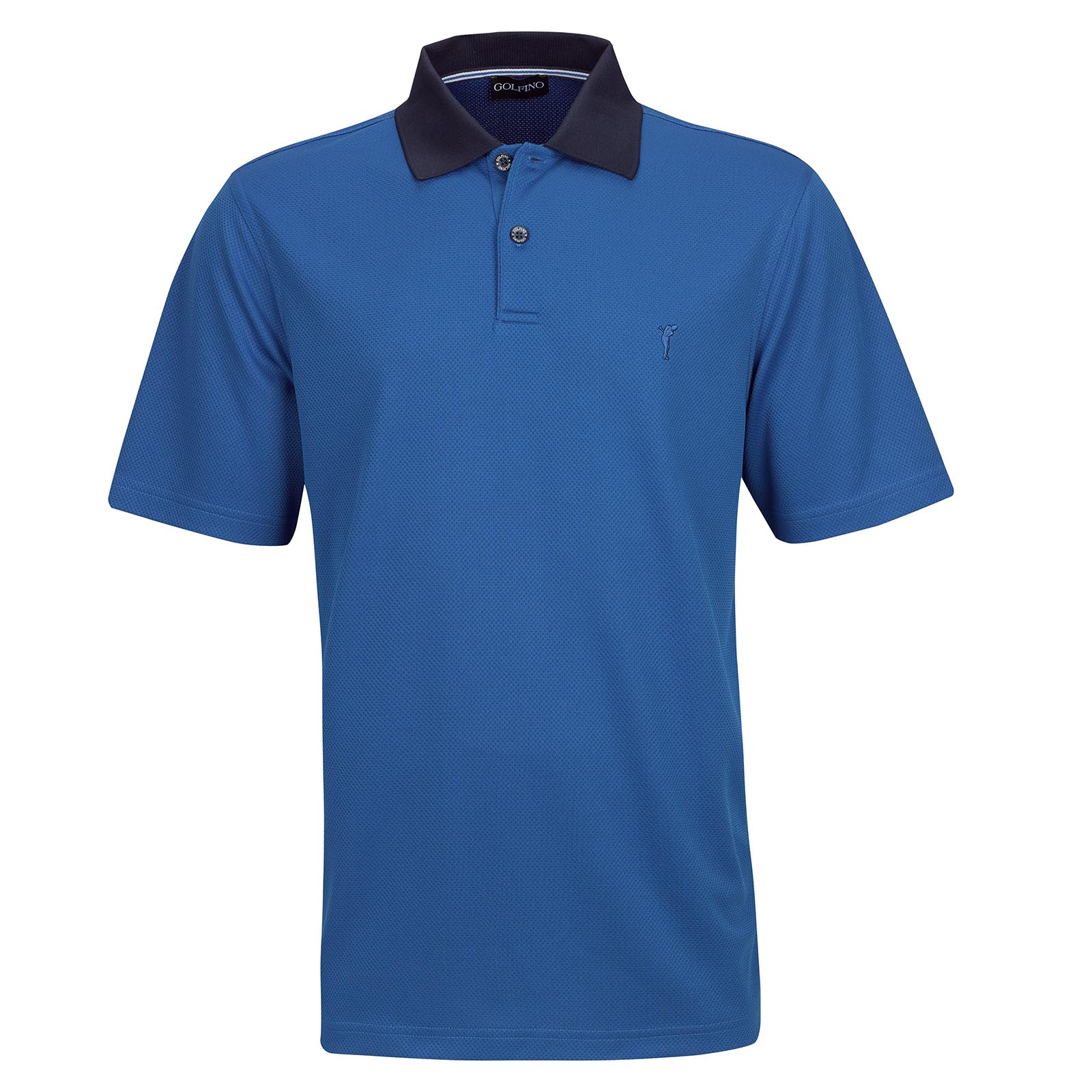 Resort Wear men's short sleeve golf Kafetex®  Polo with moisture management