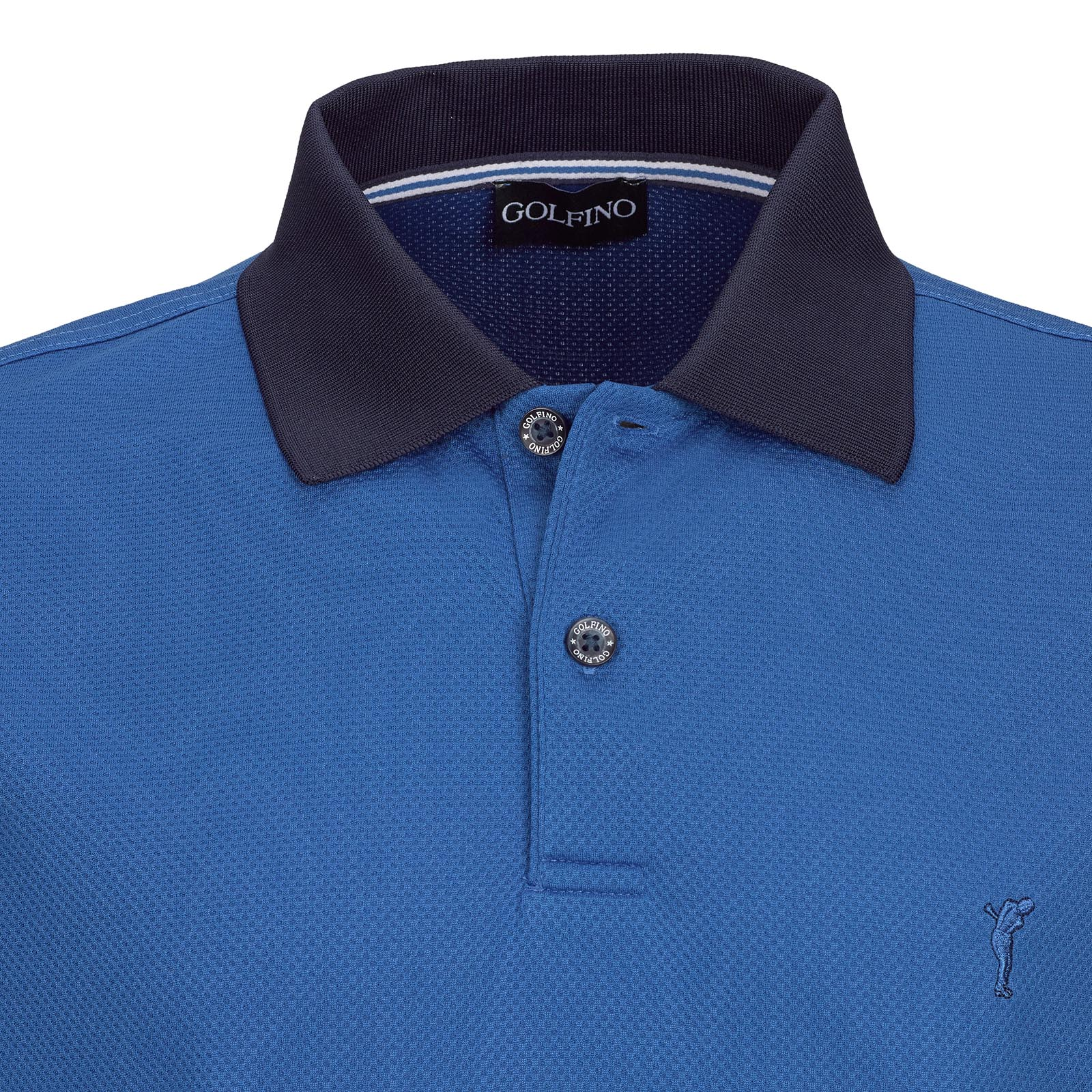 Resort Wear Herren Kurzarm Kafetex-Golfpolo mit Moisture Management