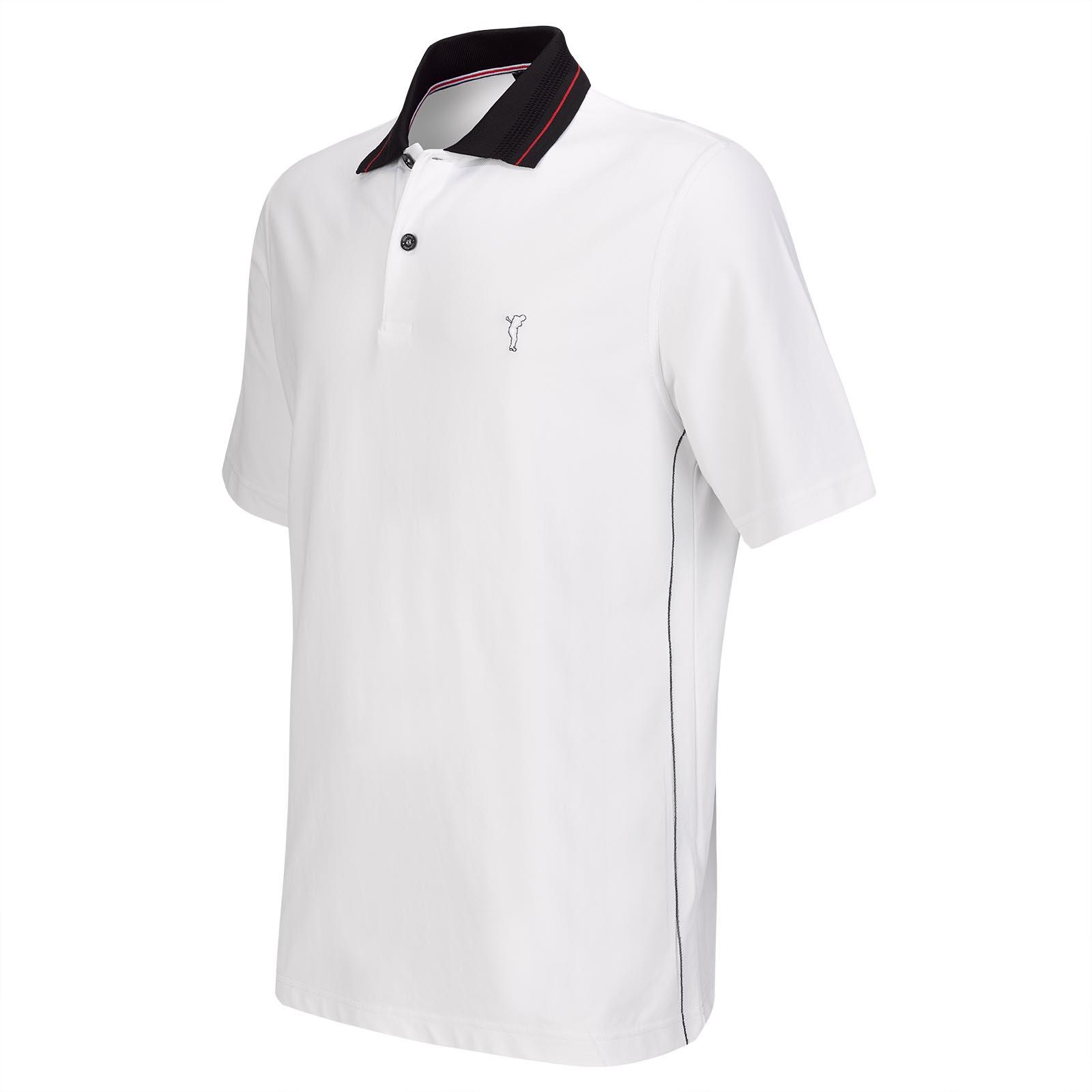 Extra Dry Red Performance Kurzarm Herren Golfpiqué mit softer Haptik