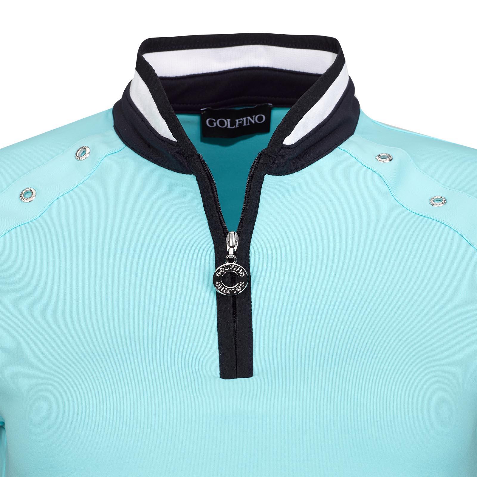 Dry Comfort Damen Golftroyer aus feinem Jersey mit stylischen Ösen