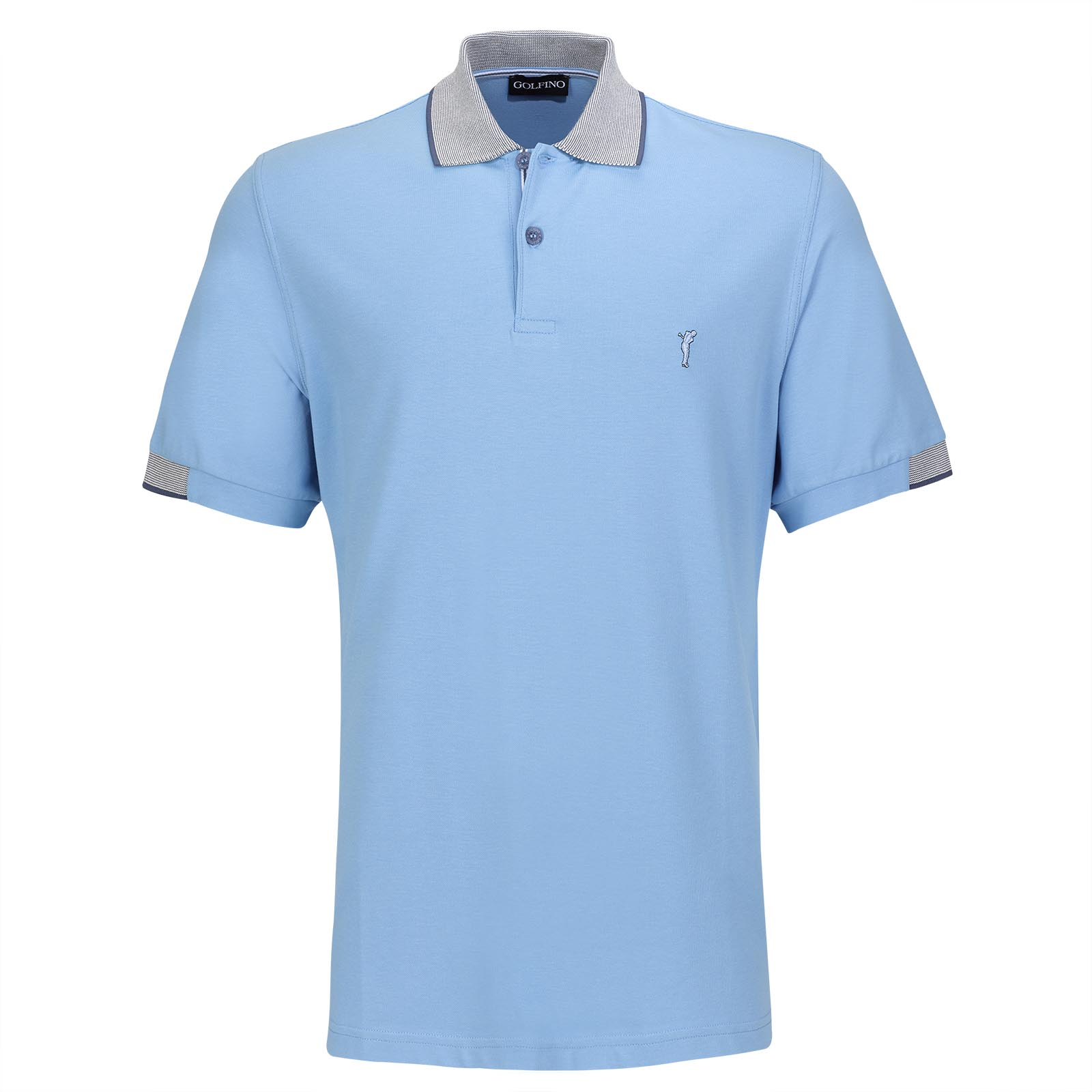 Sommerliches Herren Sunprotection-Golfpolo Resort Wear