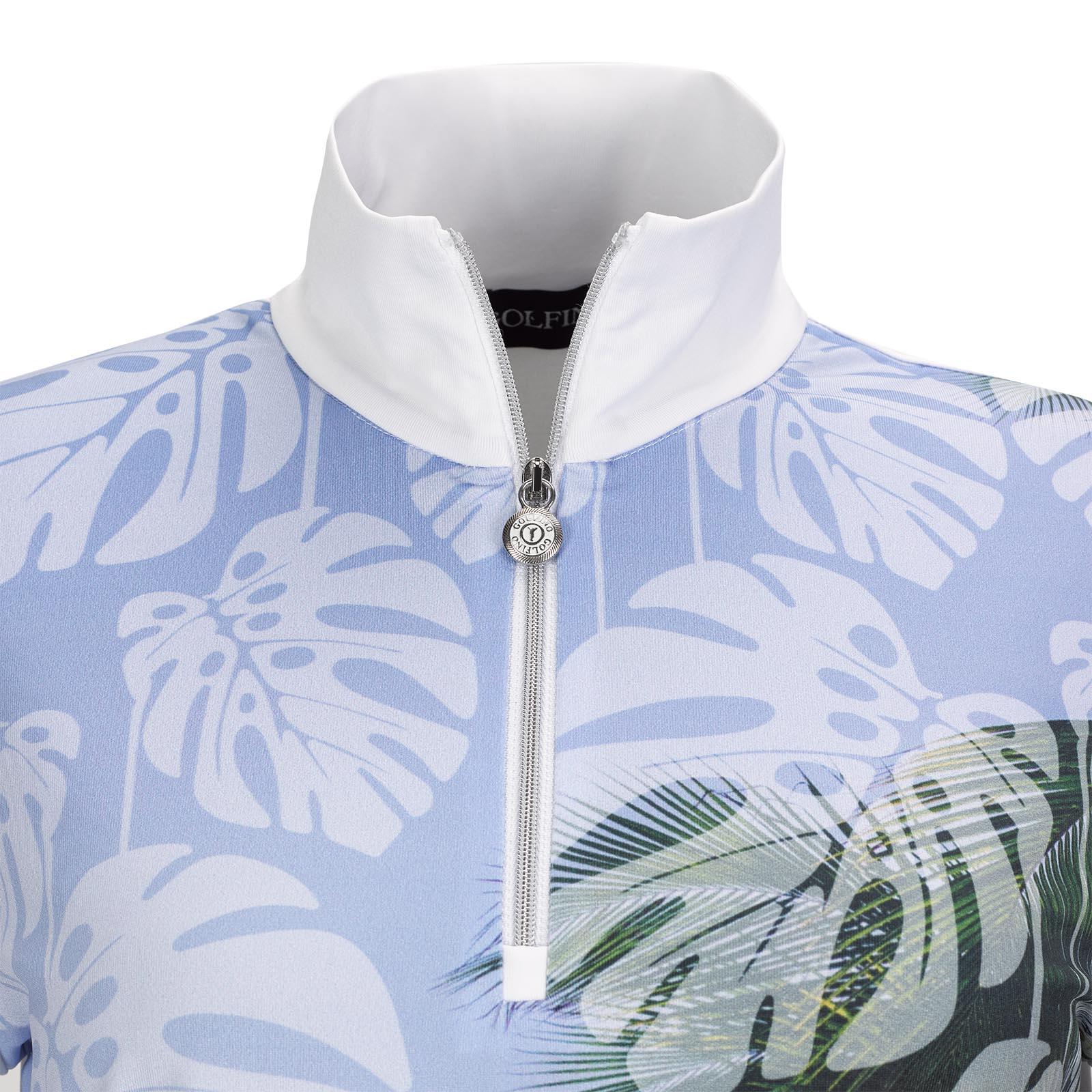 Dry Comfort Palm Beach Damen Golftroyer mit stylischem Print