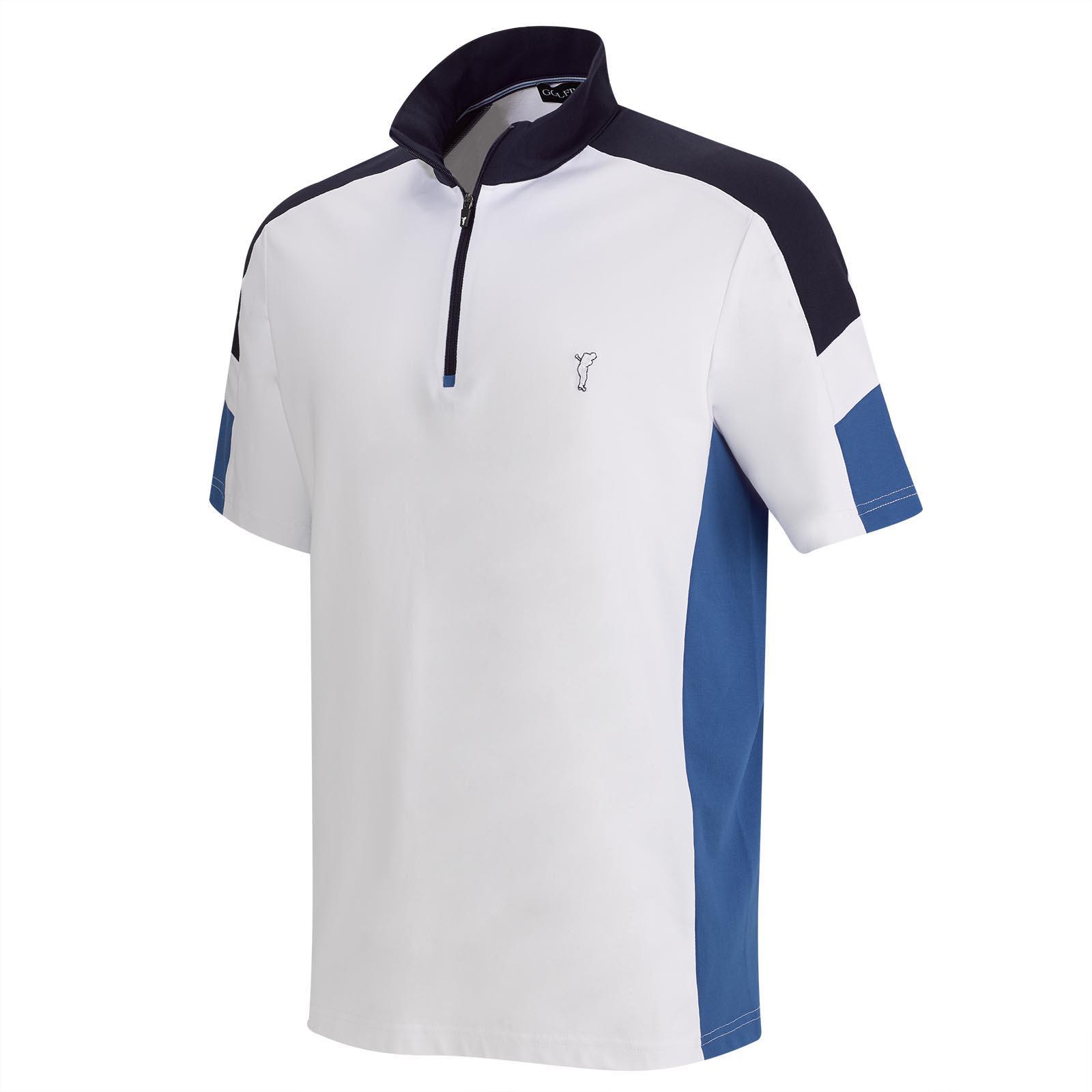 Performance Kurzarm Herren Golftroyer mit UV-Schutz im Pro-Look