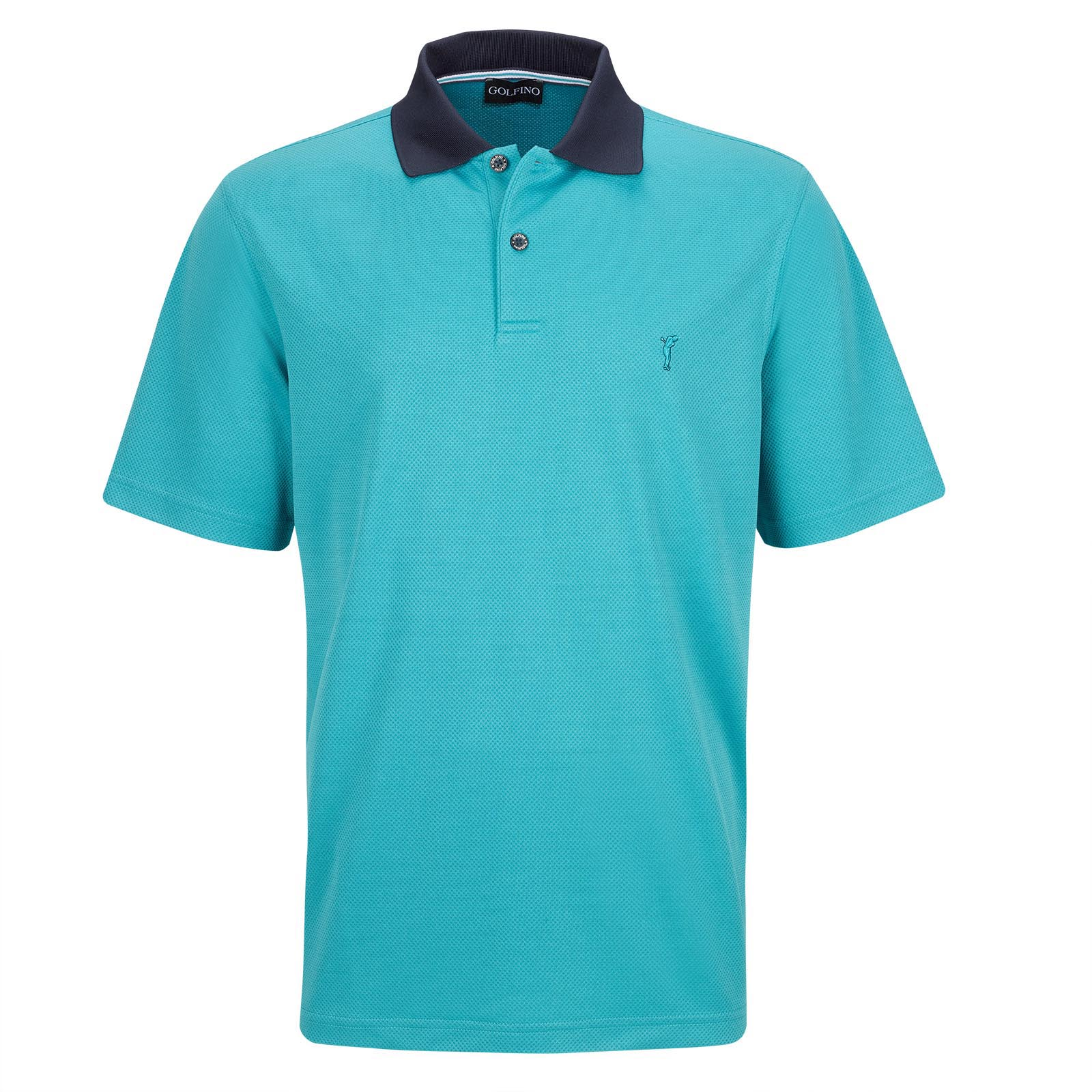 Men's short sleeve Kafetex® golf polo in regular fit with moisture management