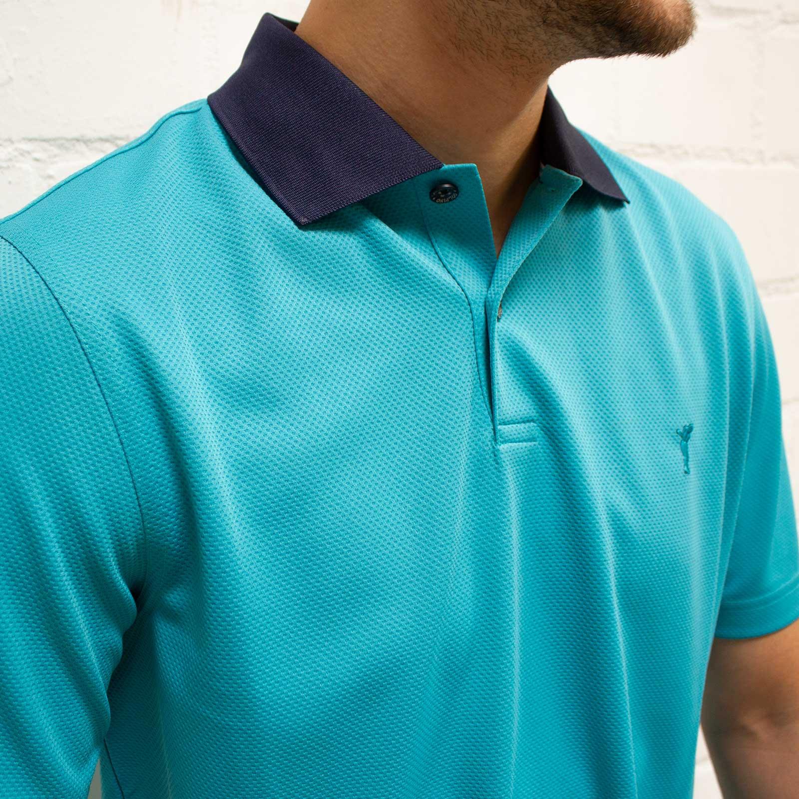 Herren Kurzarm Kafetex®-Golfpolo in Regular Fit mit Moisture Management