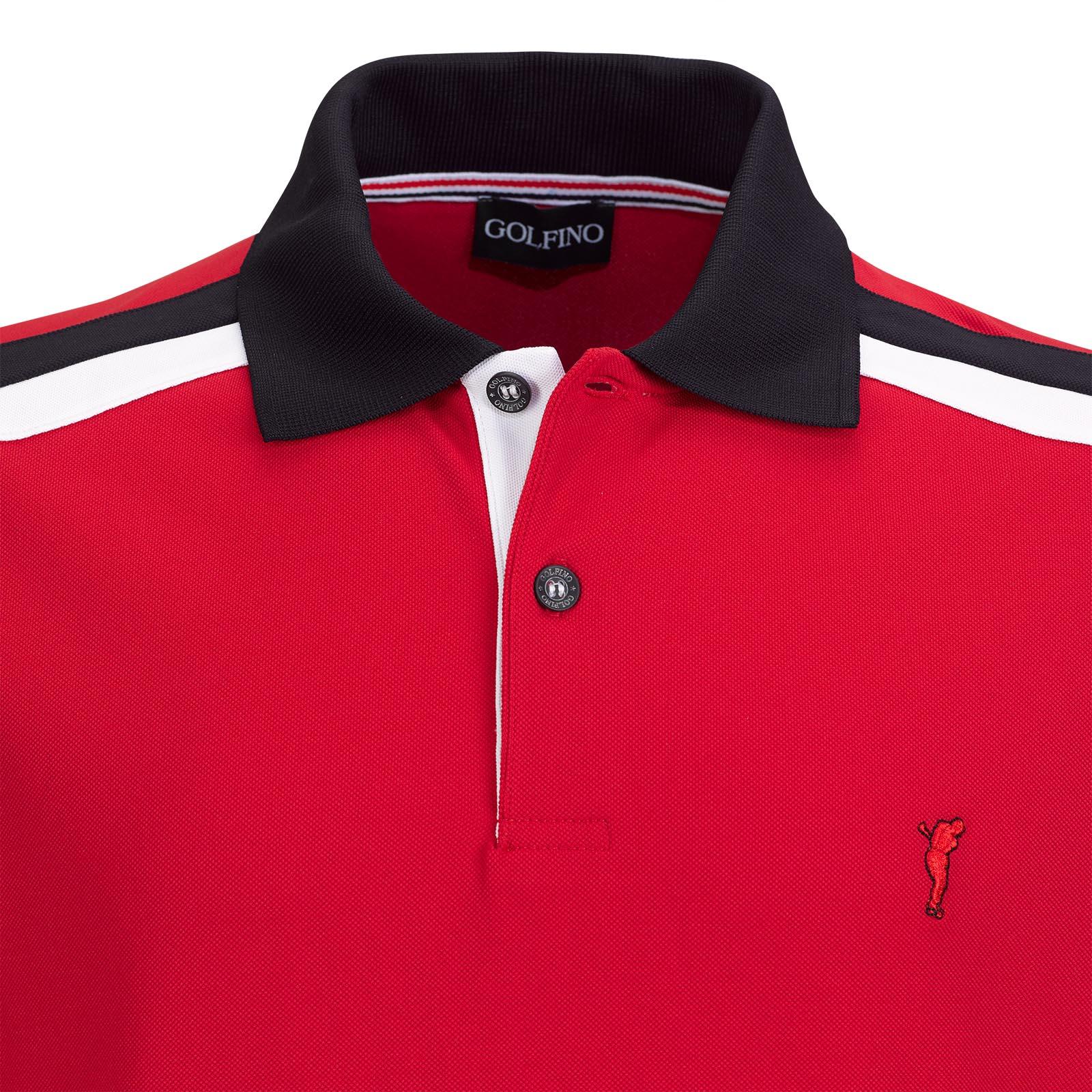 Extra Dry Herren Kurzarm Golf-Piqué im Pro Look mit Farbkontrasten
