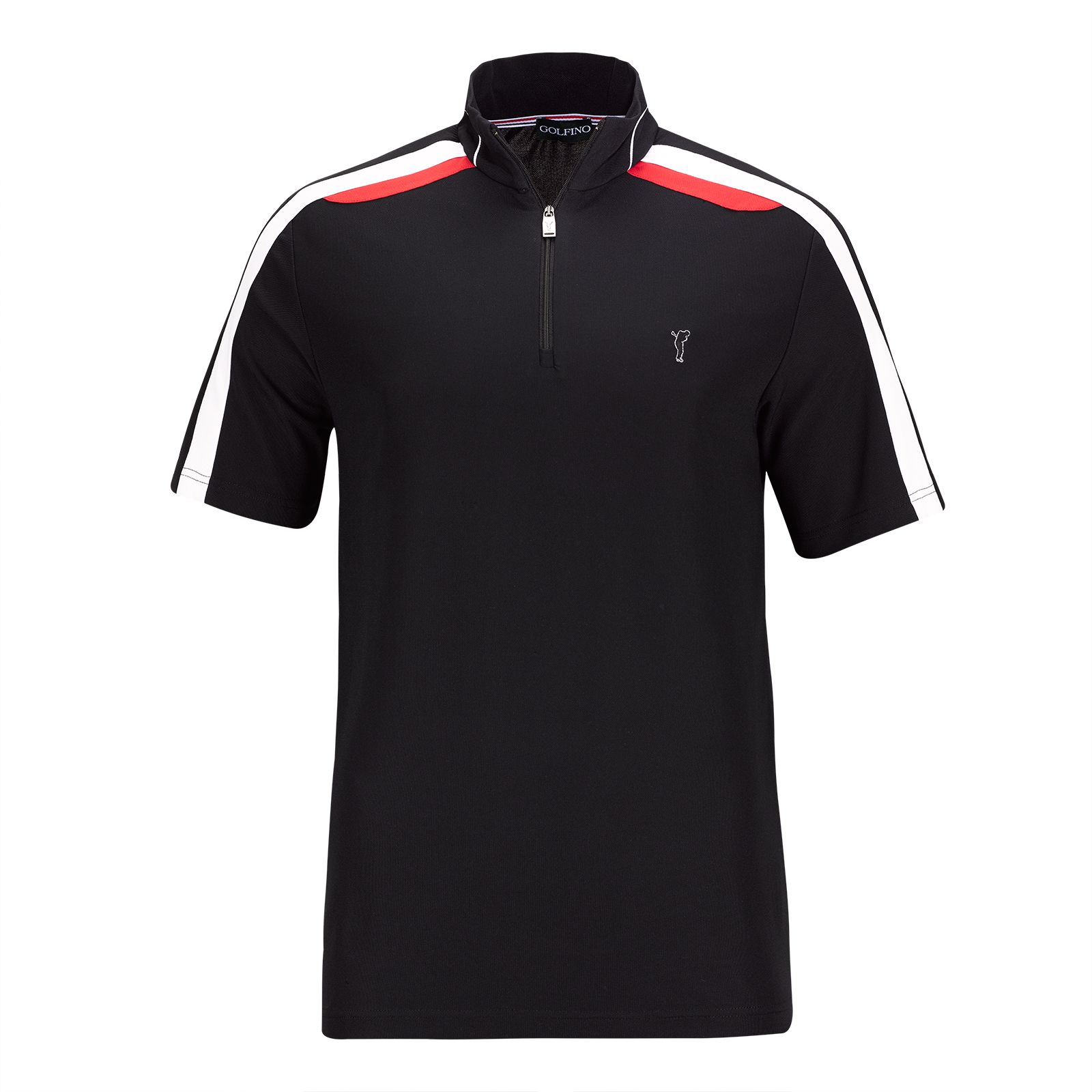 Jersey de golf con cremallera delantera Performance de manga corta de hombre Extra Dry en un look profesional