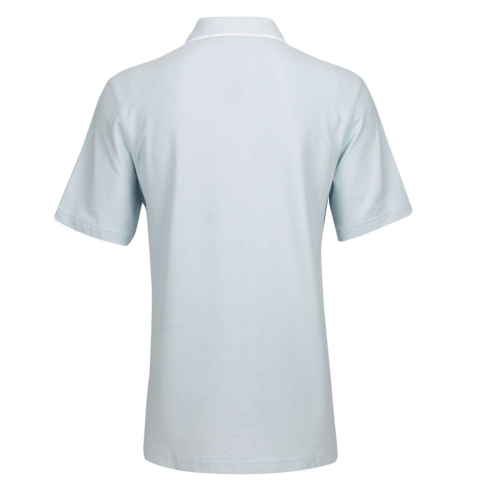 Herren Basic Kurzarm Golf-Piqué mit Sunprotection und Stretchfunktion