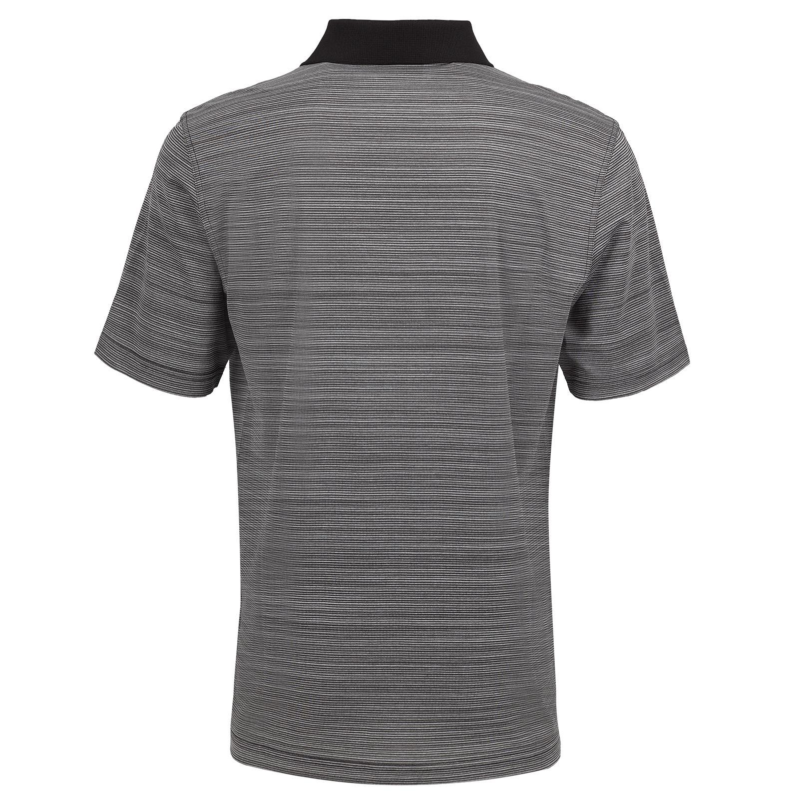 Gestreiftes Herren Casual Kurzarm Funktions-Golfpolo Quick Dry