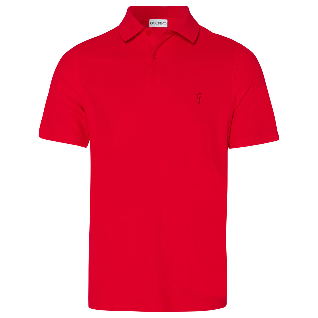 Classic men's short-sleeved functional golf piqué.