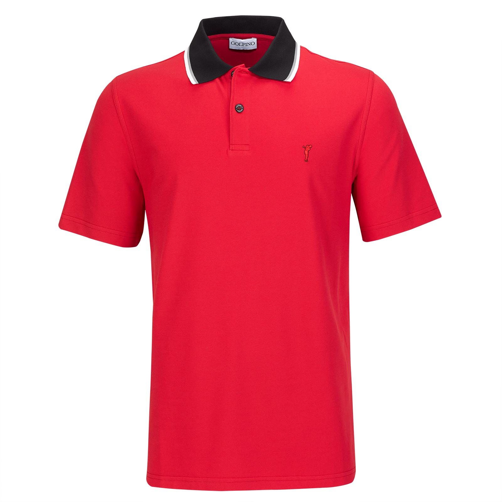 Modern men's short-sleeved polo shirt