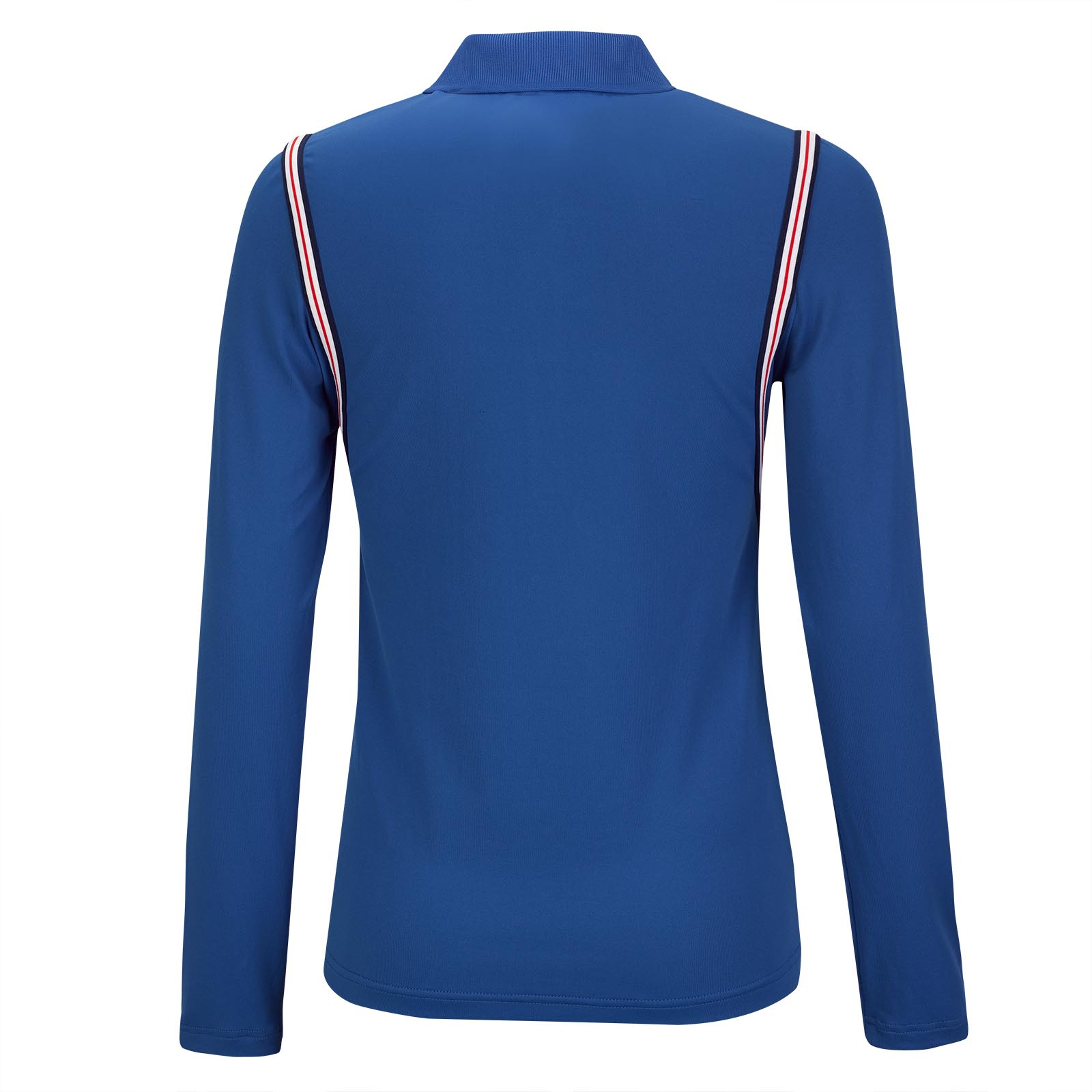 Damen Basic Langarm Funktions-Golfpolo mit Moisture Management