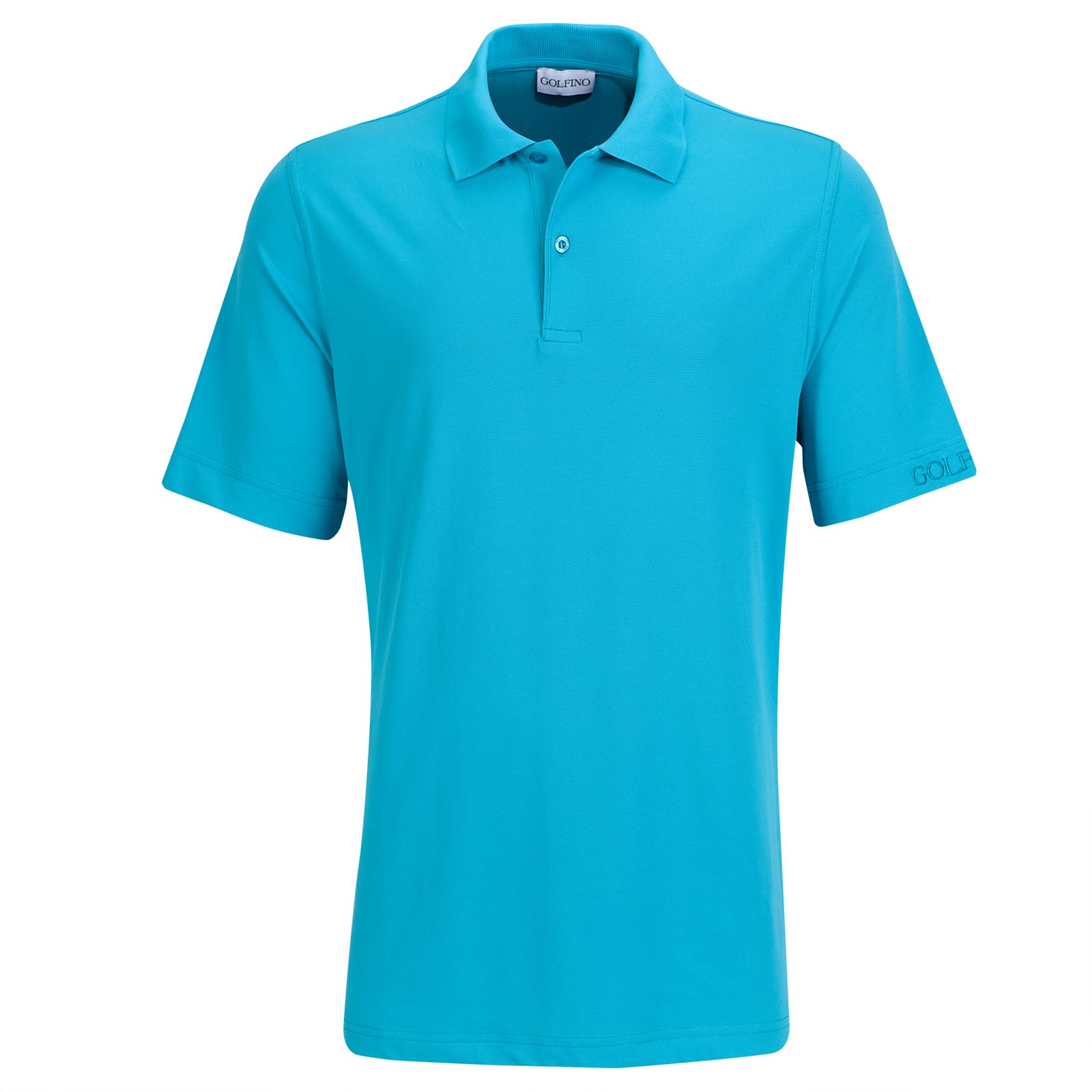 Men's functional dry comfort golf polo in regular fit