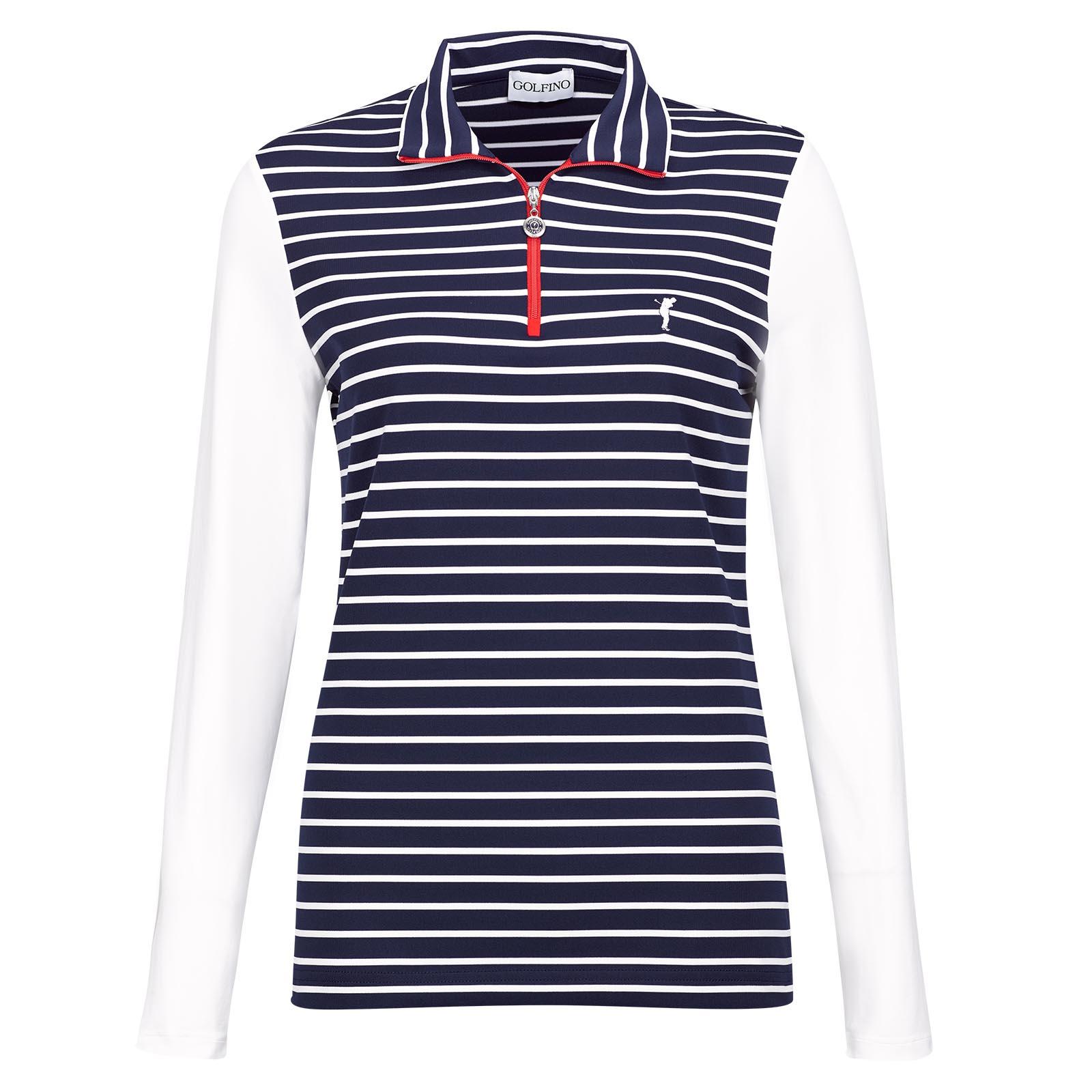 Damen Troyer mit Kontrast-Zipper