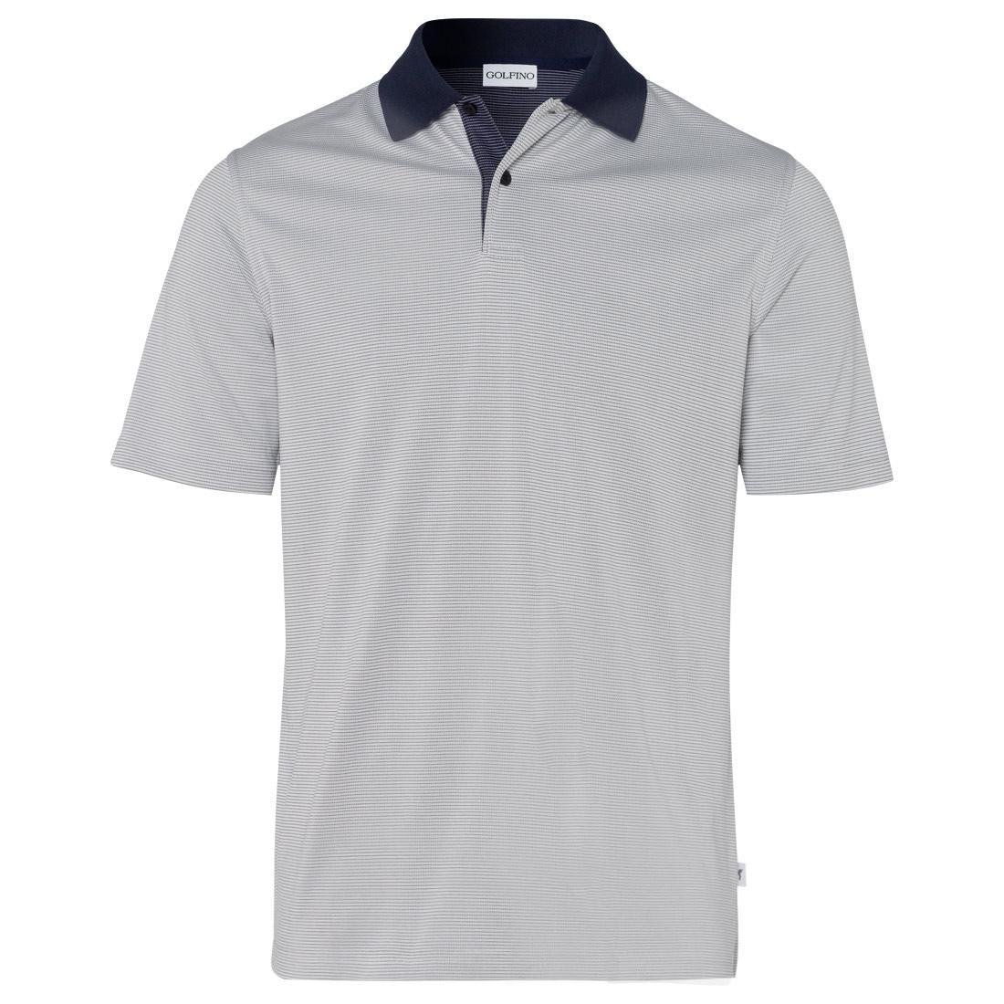 Herren Funktions-Kurzarm-Golfpolo