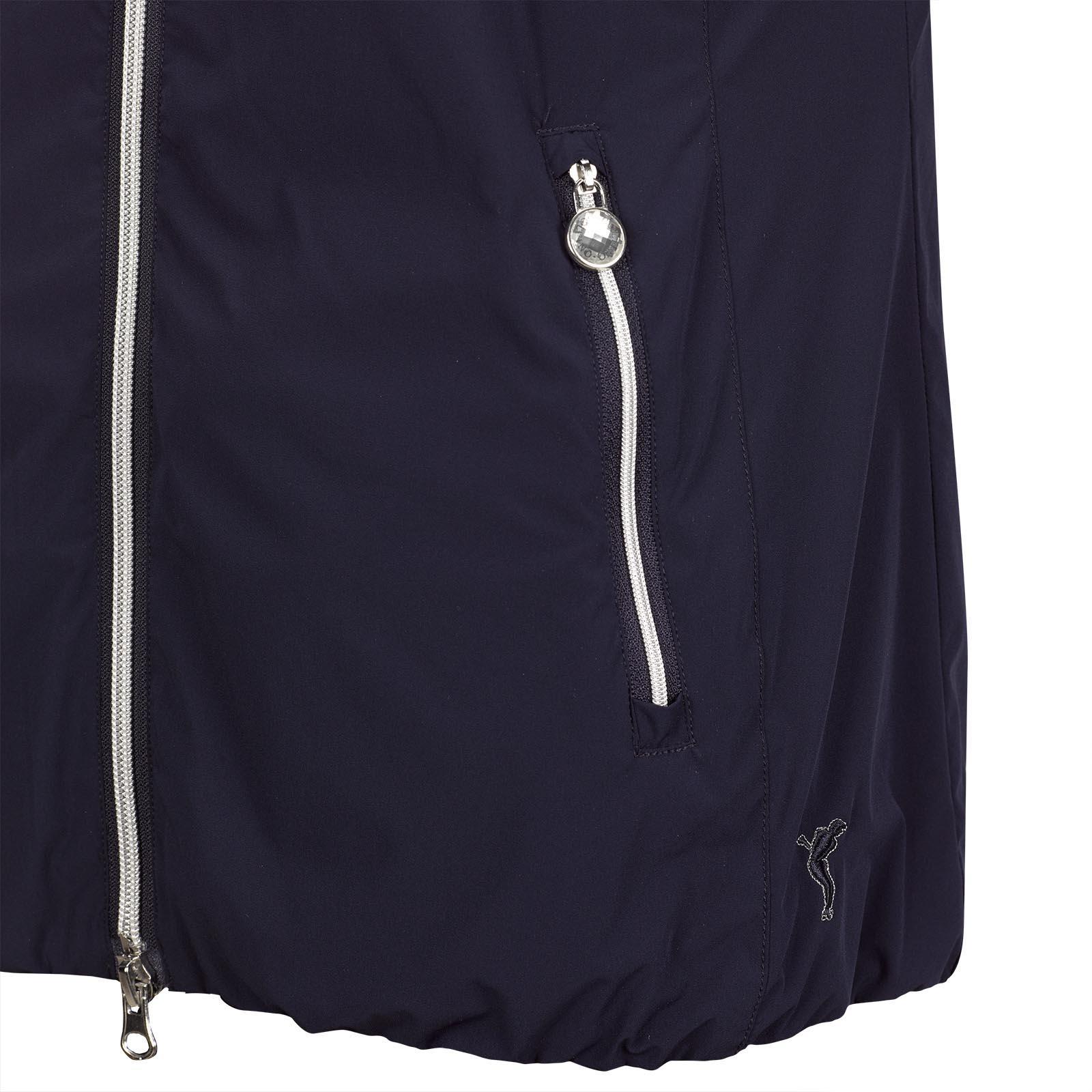 Damen Golfweste aus elastischem Micro-Stretch mit Mesh-Futter