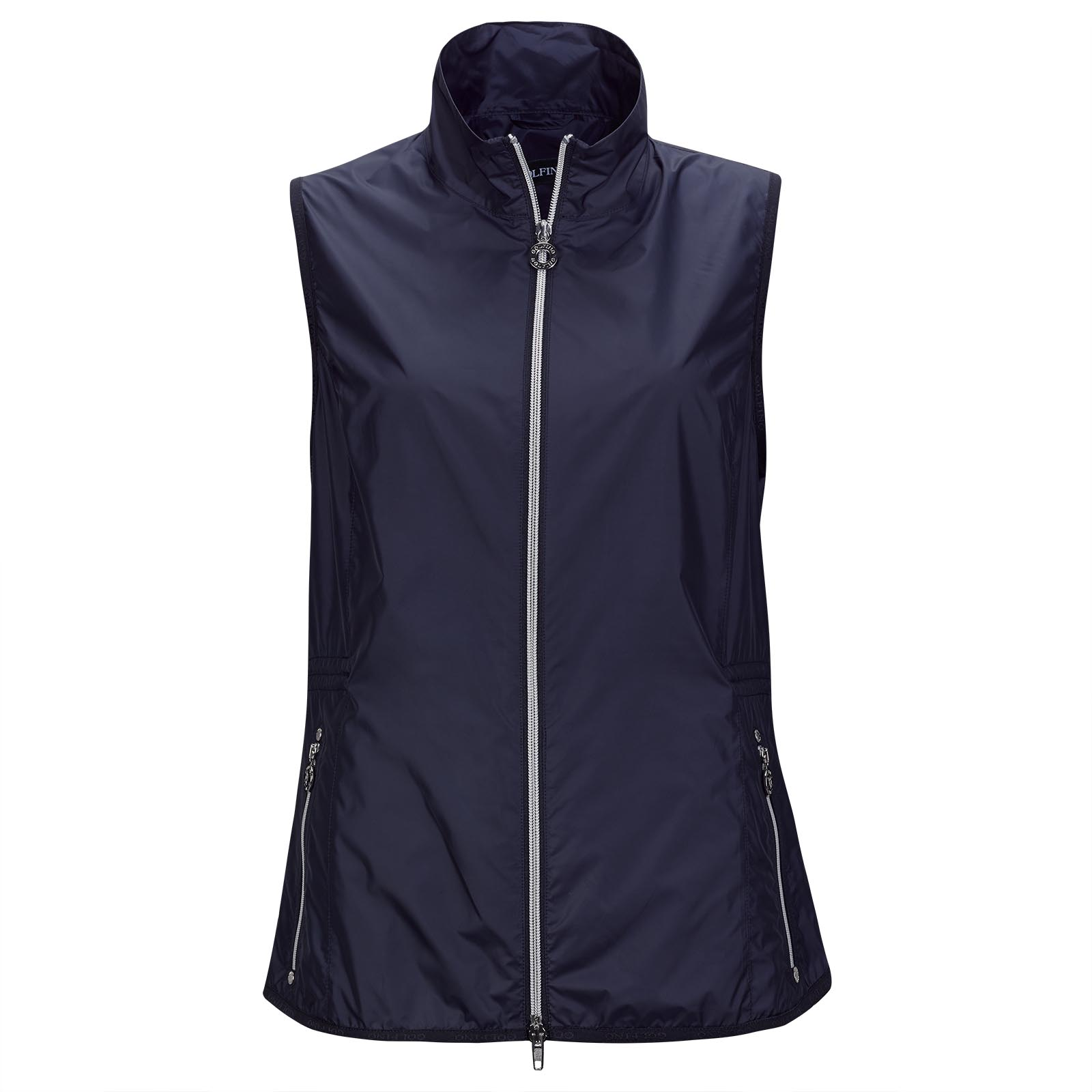 Ultra Lightweight and breathable Ladies' golf waistcoat with Wind Protection