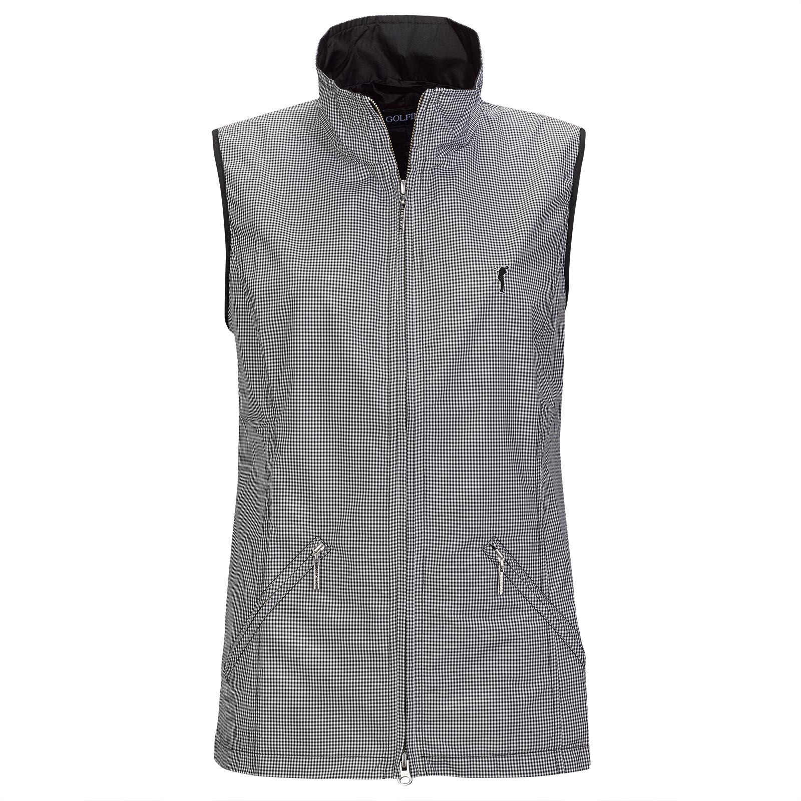 Ladies mini vichy waistcoat