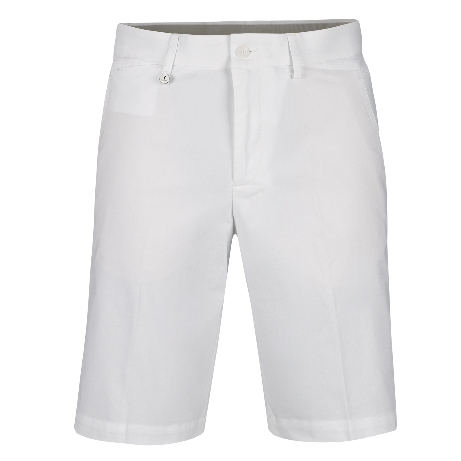 Men's techno stretch golf short with moisture management
