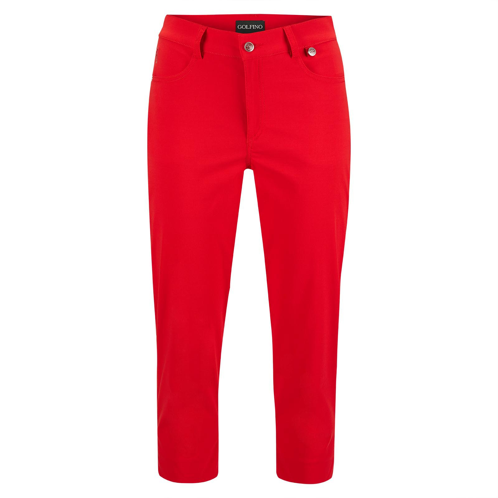 Ladies' Stretch Capri trousers with UV protection