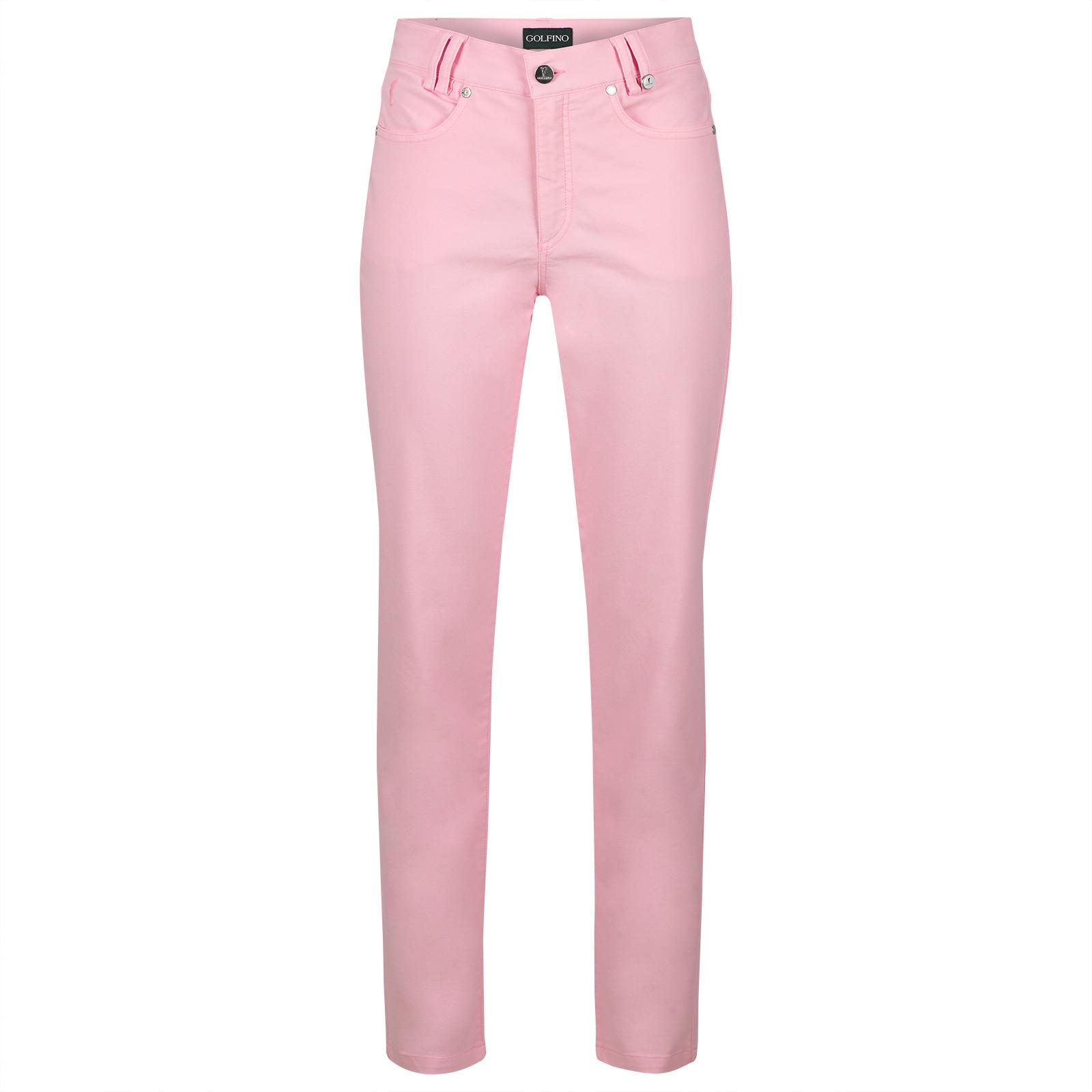 Cotton-Blend Damen 7/8-Golfhose mit sehr guten Stretcheigenschaften