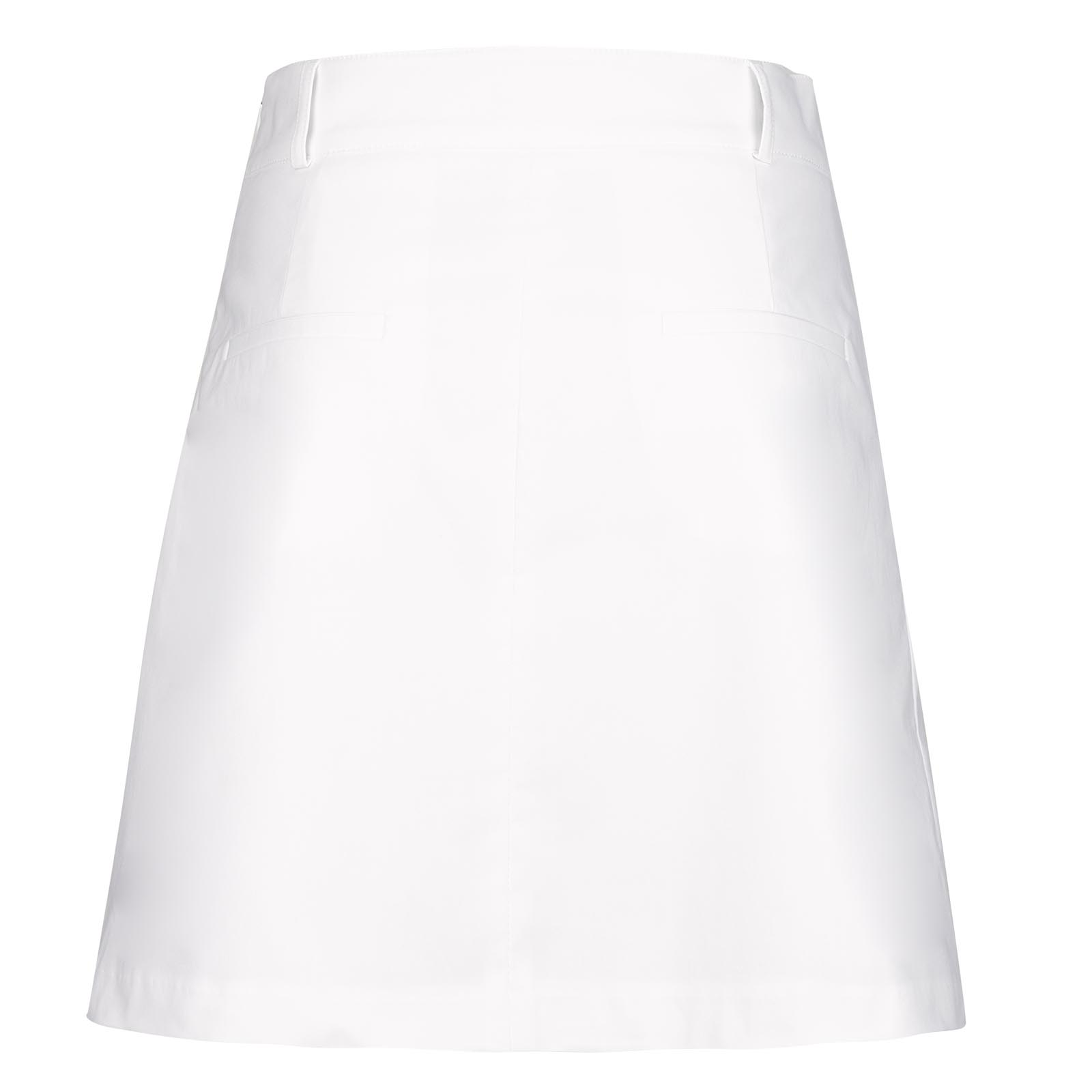 Nautical Stripes Ladies' functional golf skort with Sun Protection