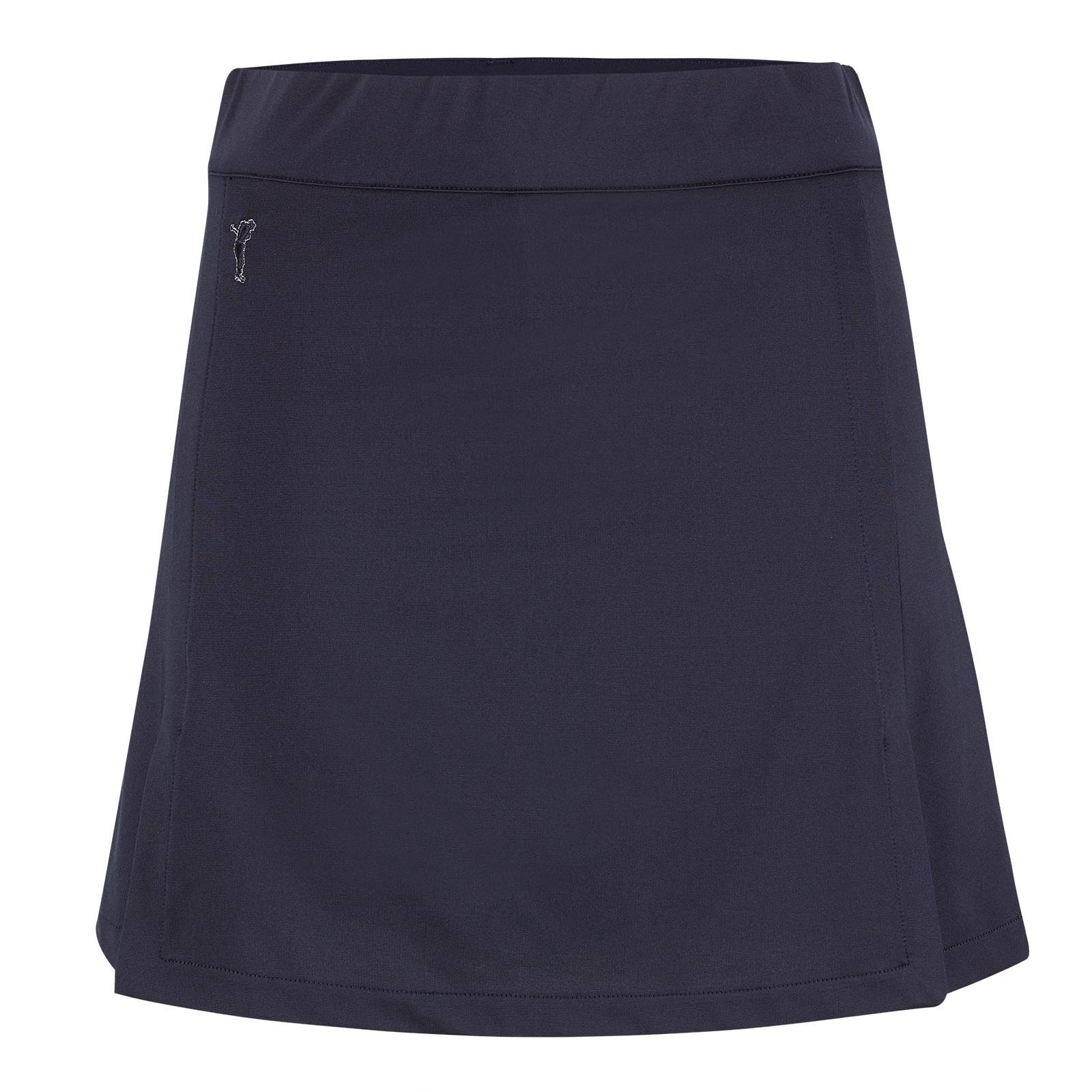 Super short Ladies' golf skort made from elastic stretch jersey