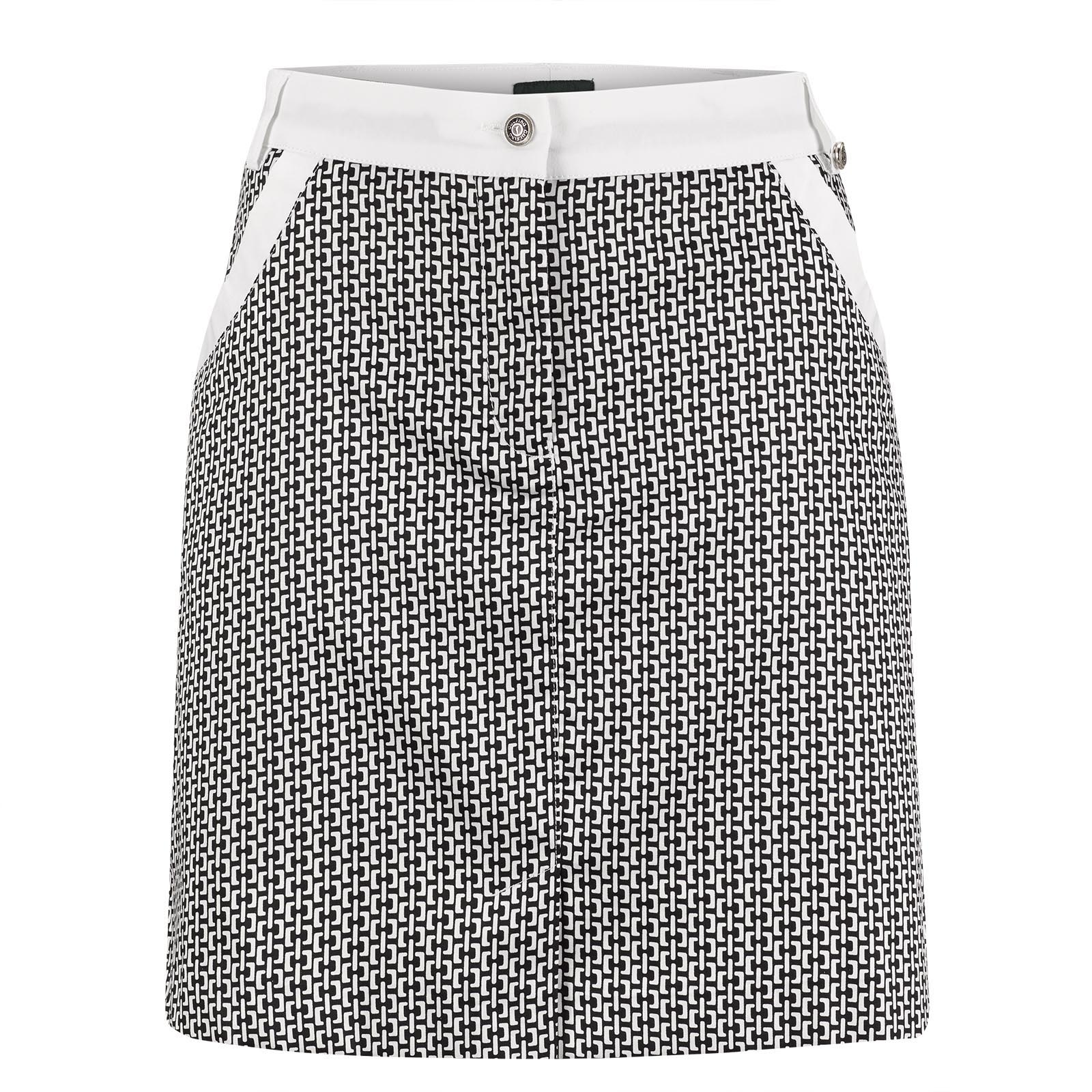 Golf skirt with fashionable all-over print in regular fit