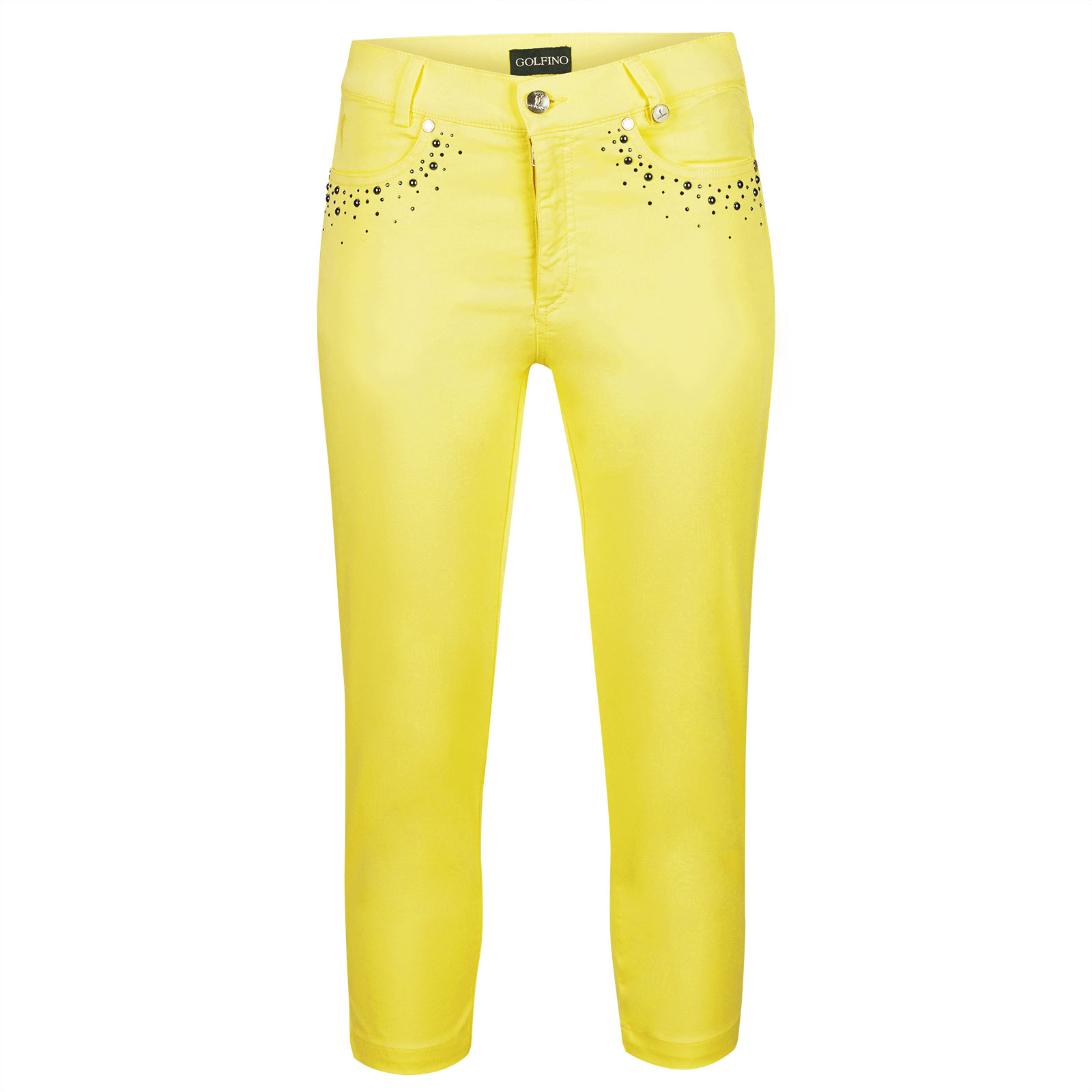 Ladies' Golf Capris made from high-quality cotton blend