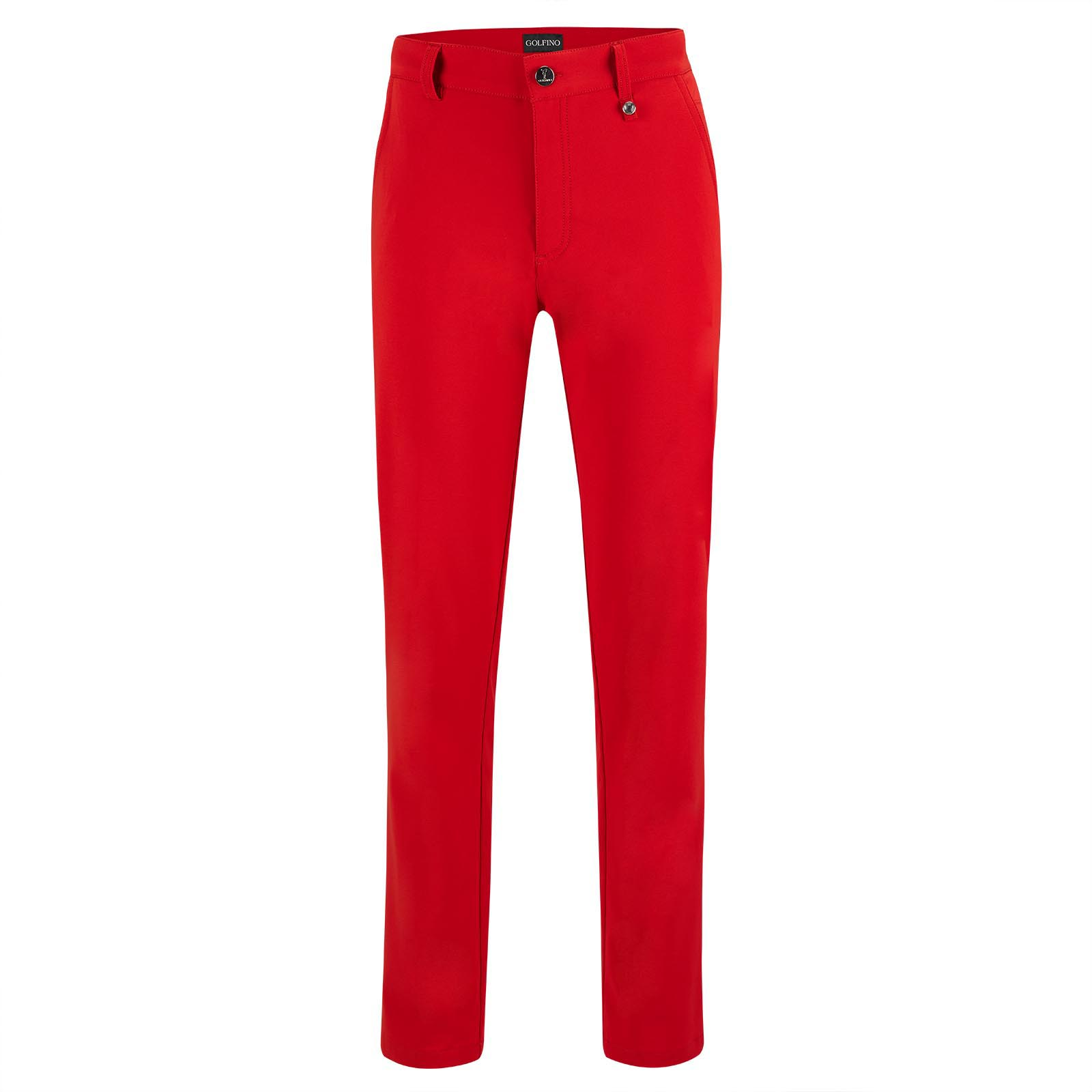 Water-resistant Ladies' golf trousers with stretch function