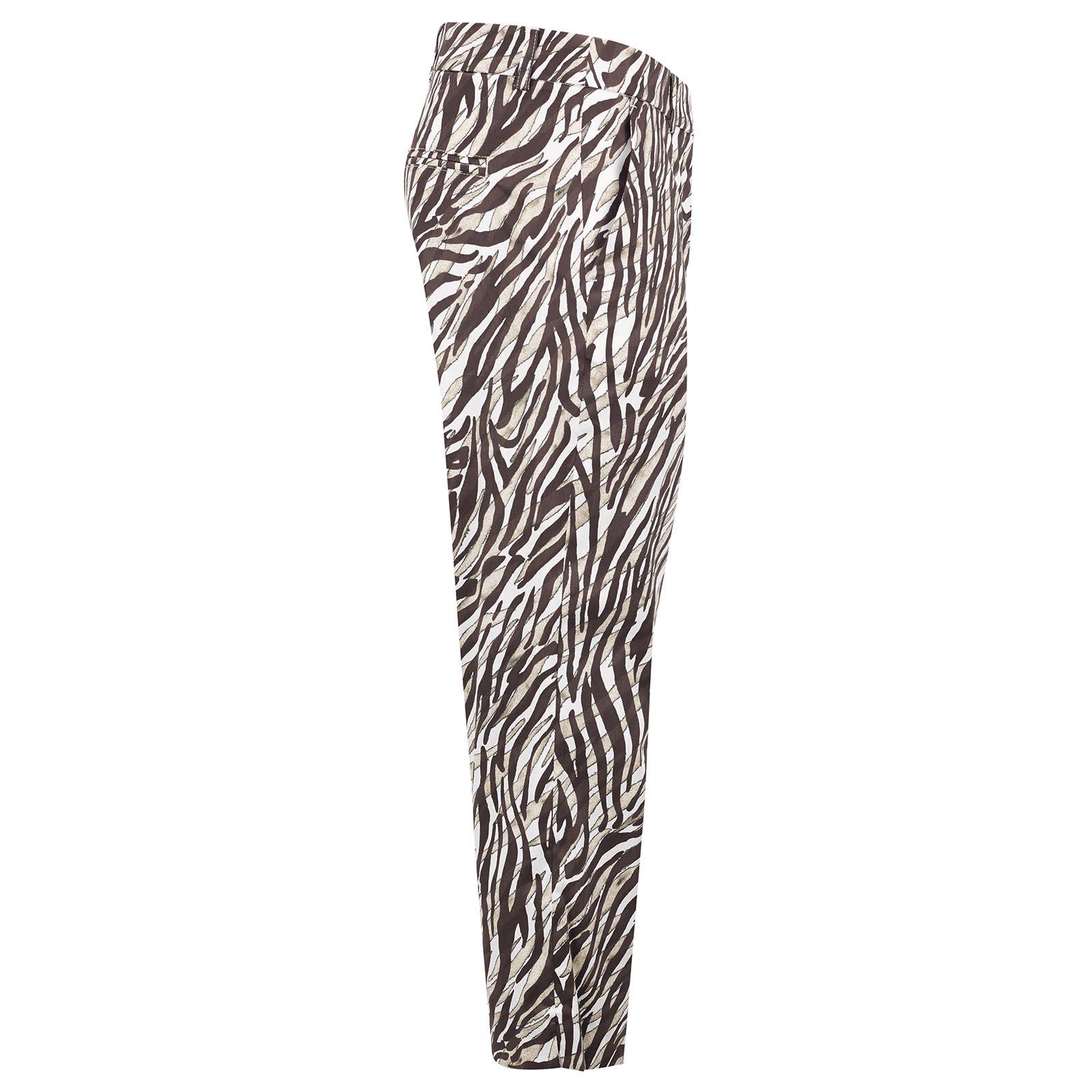 Cotton Blend Damen Stretch-Capri mit Grafikdruck und toller Passform