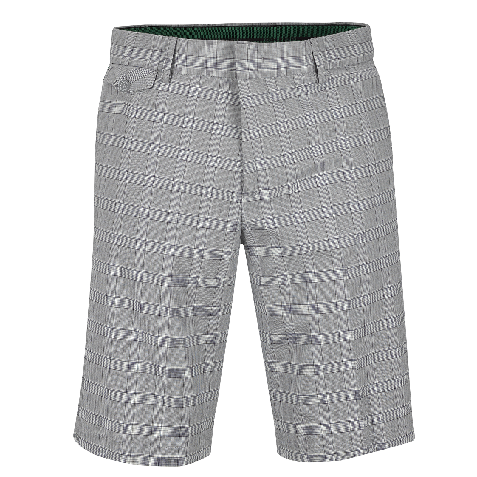 Men's Cotton Karo Golf Bermuda with Stretch function