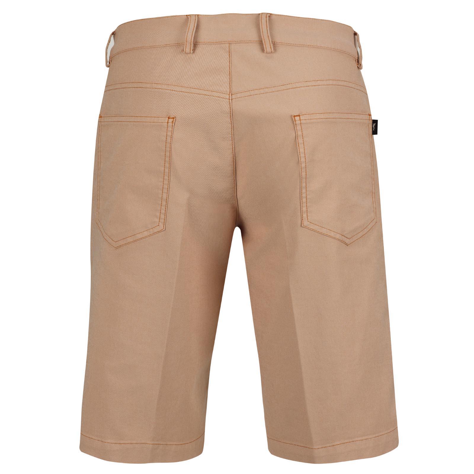 Moderne Premium Cotton Blend Herren Golf-Bermuda mit Stretchfunktion