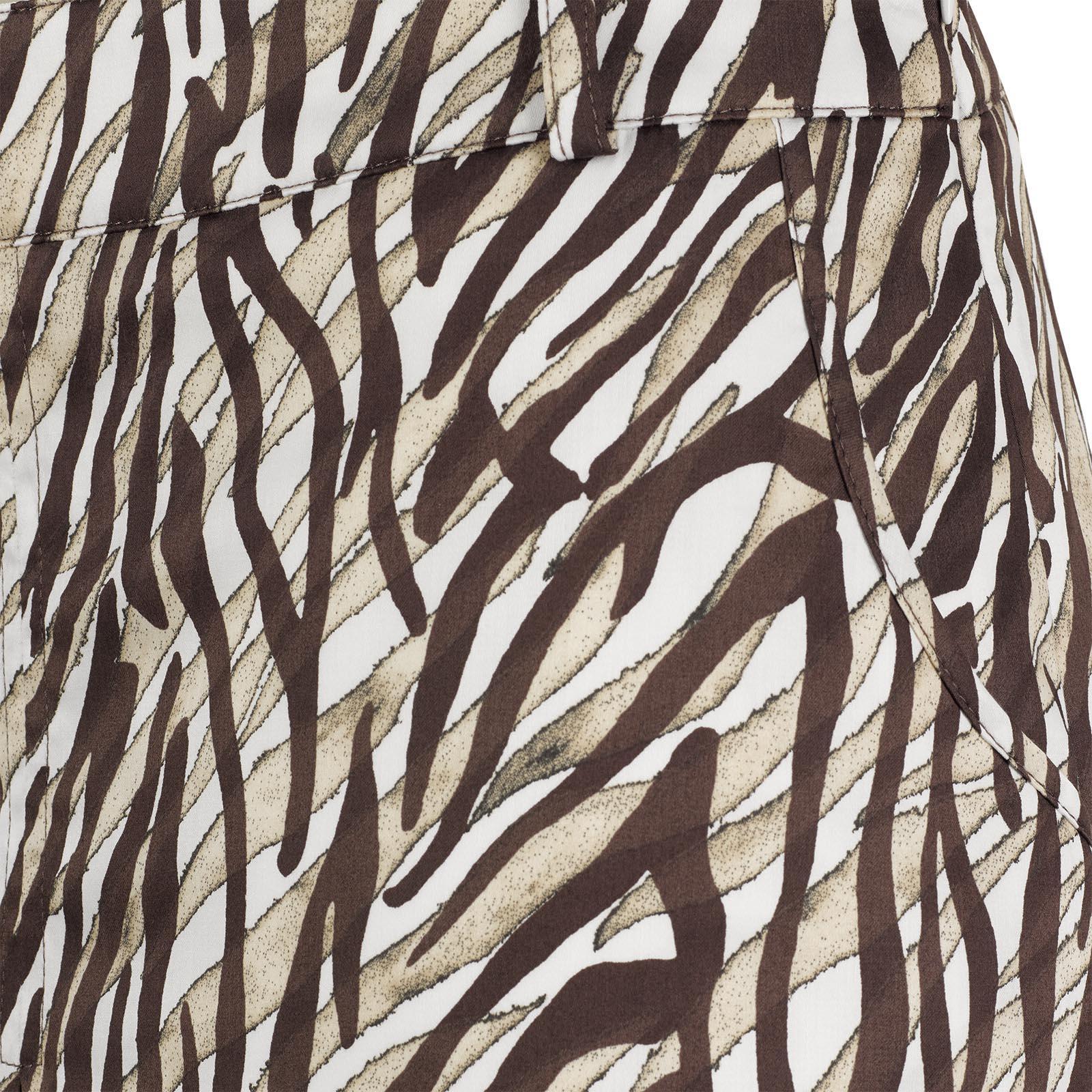 African Safari Damen Print-Golfskort mit innenliegenden Shorts