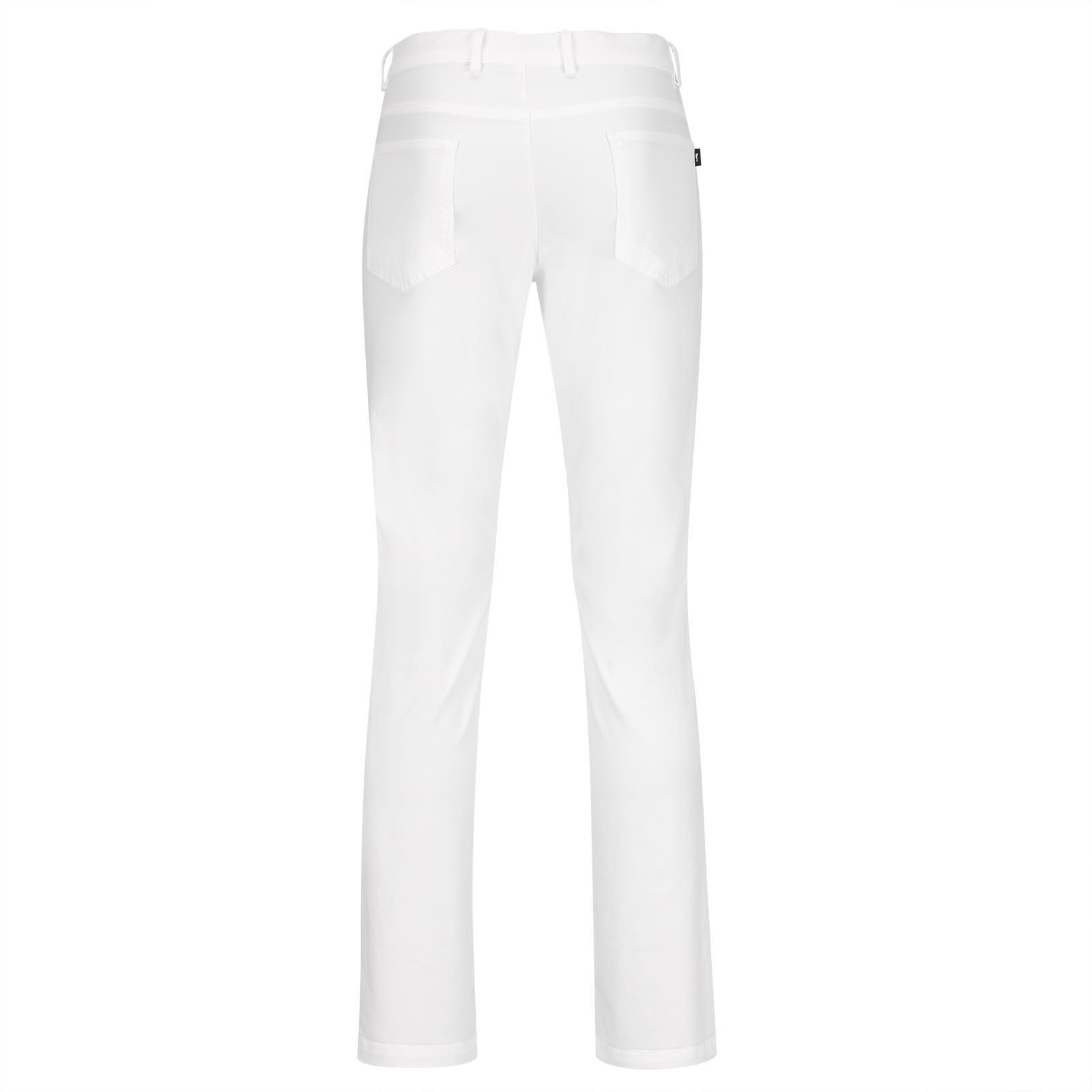 Baumwoll-Mix Herren Golfhose mit Stretchanteil und moderner Passform