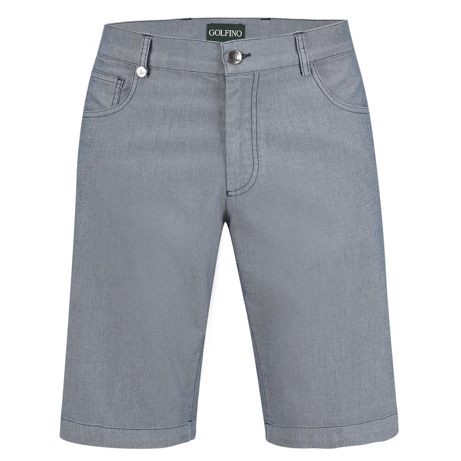Men's Bermudas in five-pocket style