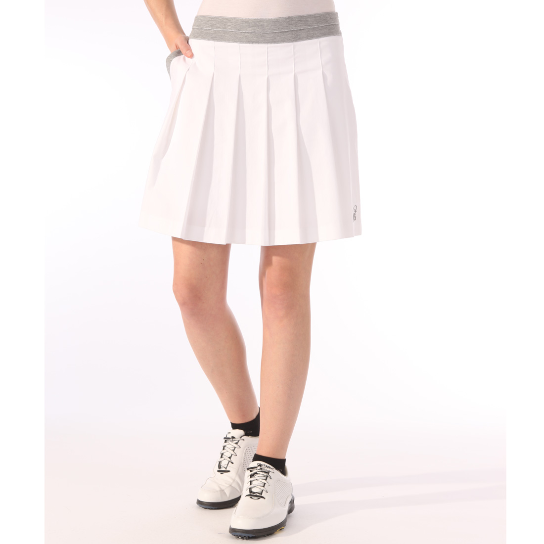 Damen Golf-Skort aus Baumwollmix mit Light Techno Stretch