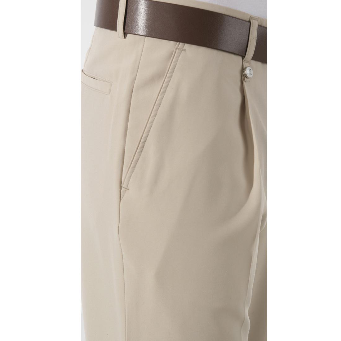 Klassische Herrenhose mit Bundfalte