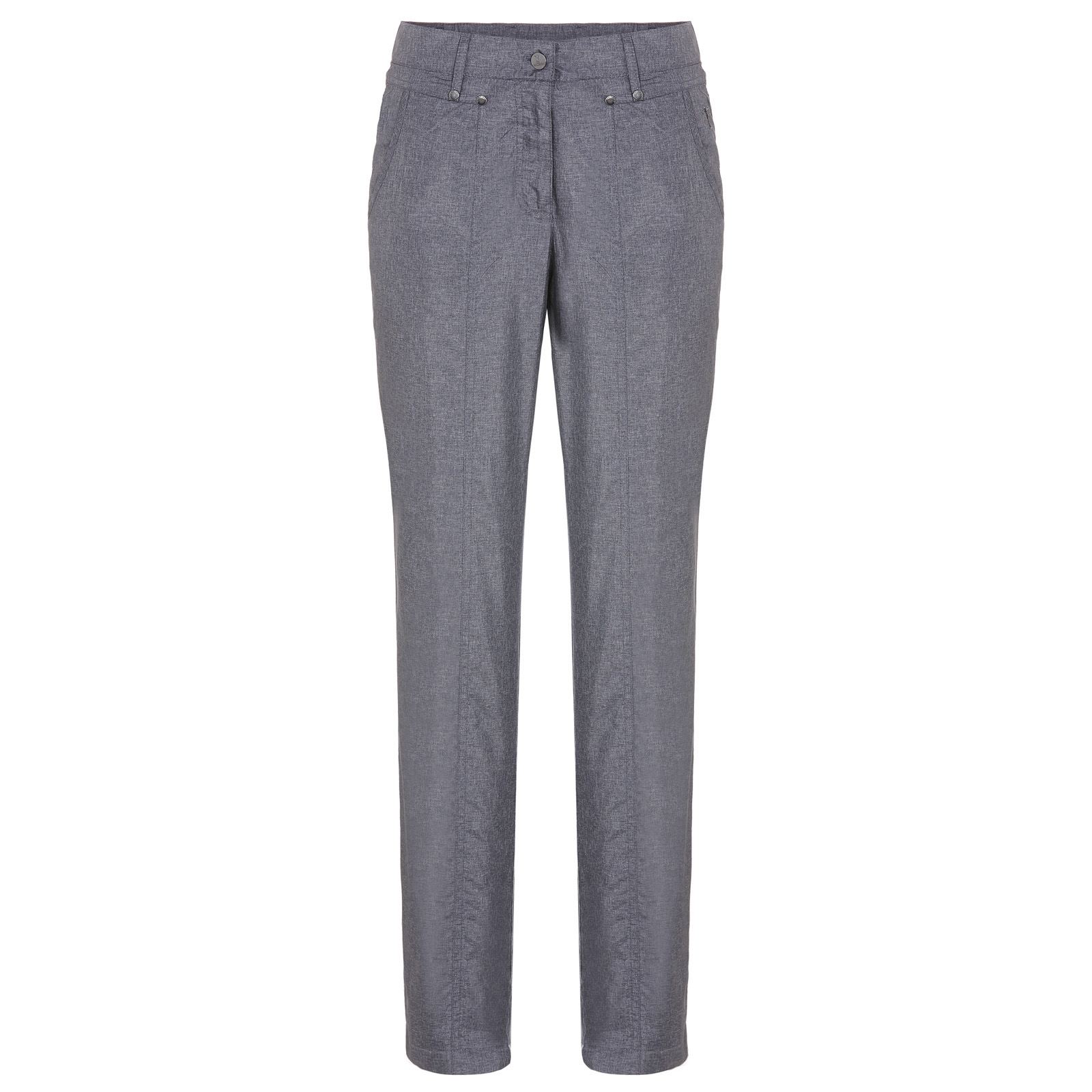 Thermal trousers in jeans look