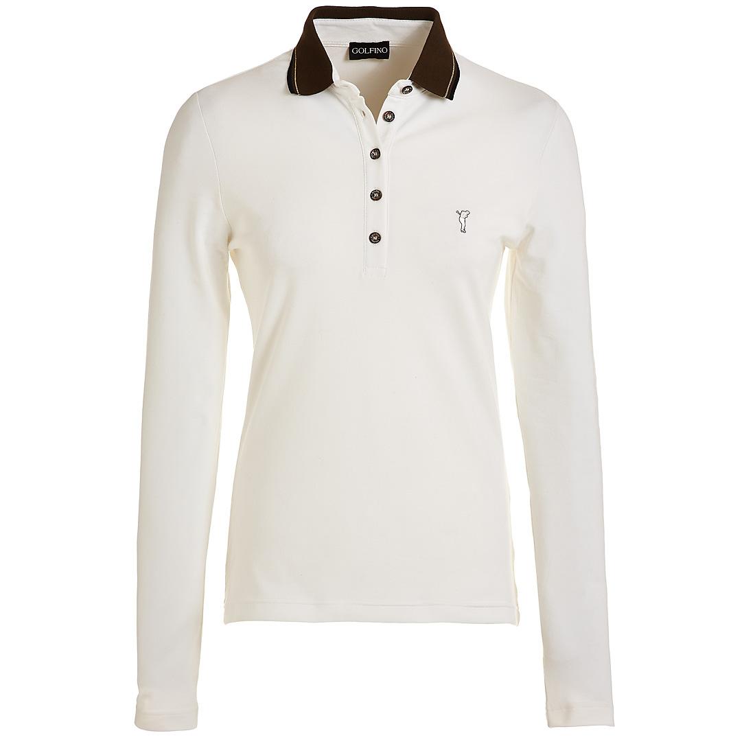 Piqué Poloshirt mit Sonnenschutz