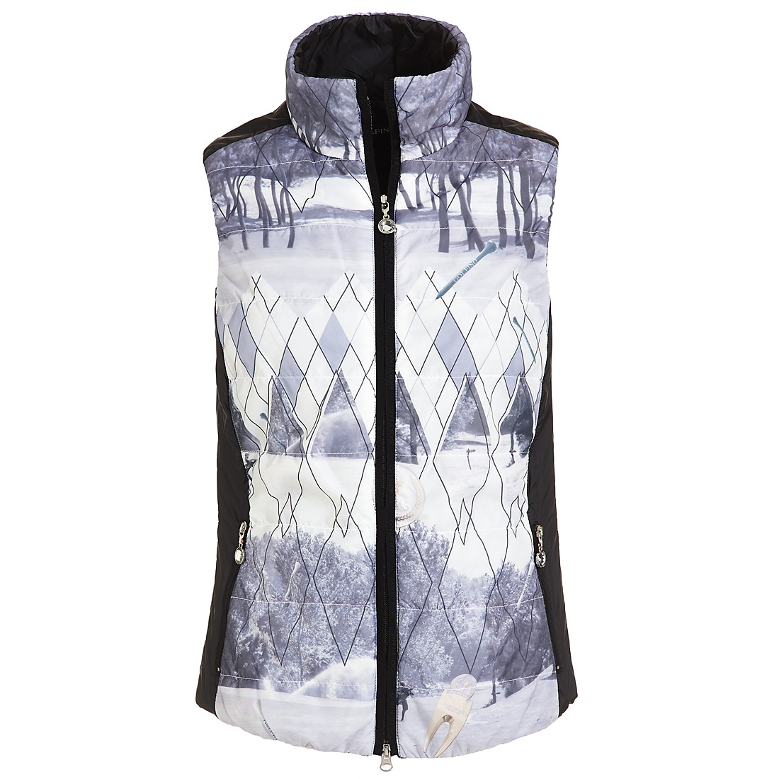 Picture micro waistcoat