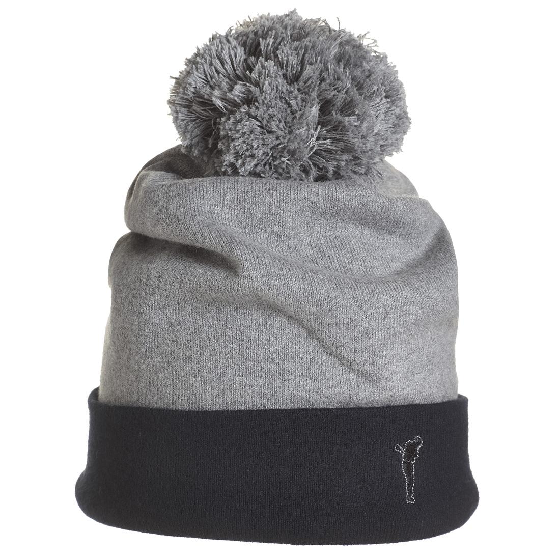 Wollmütze mit Pompom