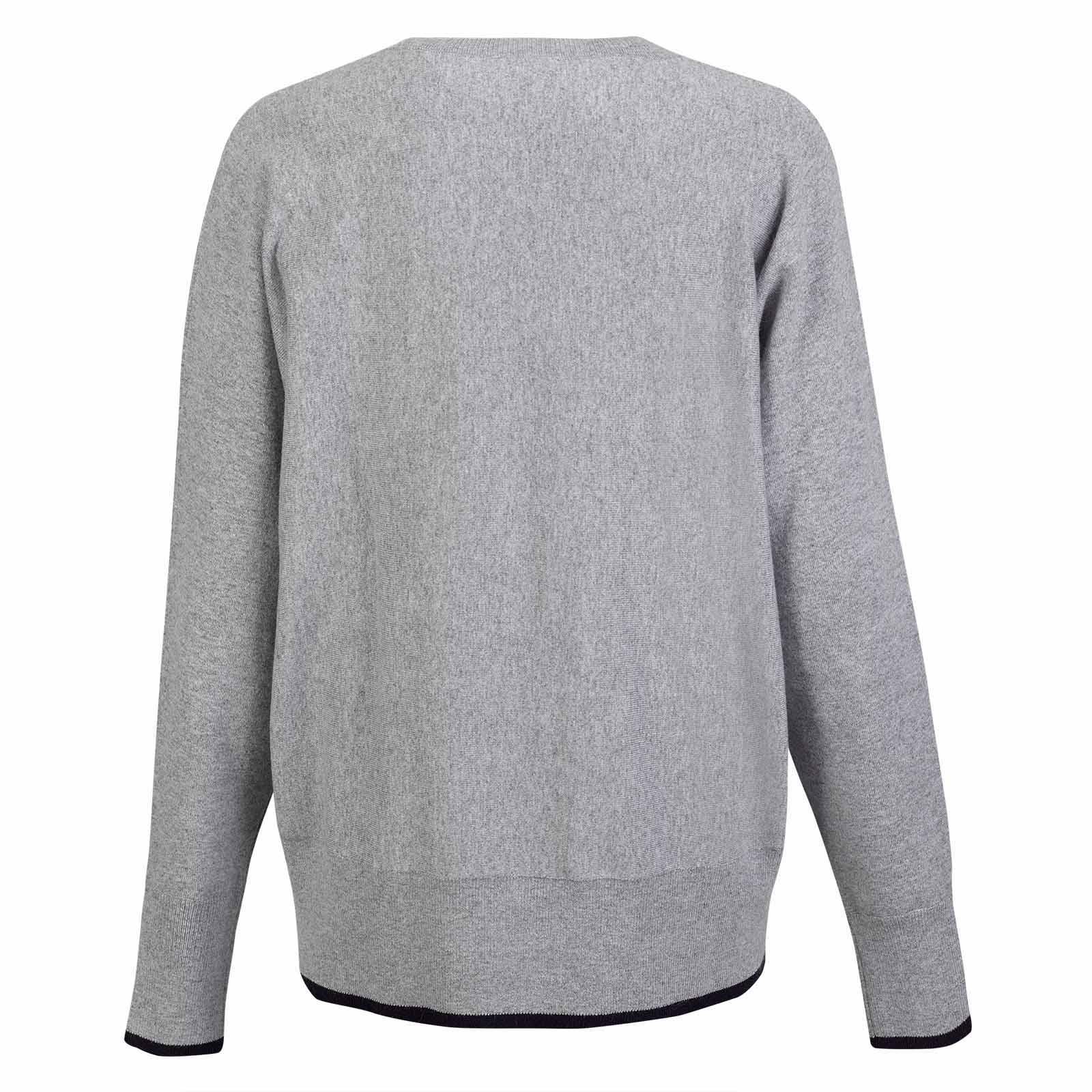 Damen Cold Protection V-Pullover aus weicher Angora-Blend