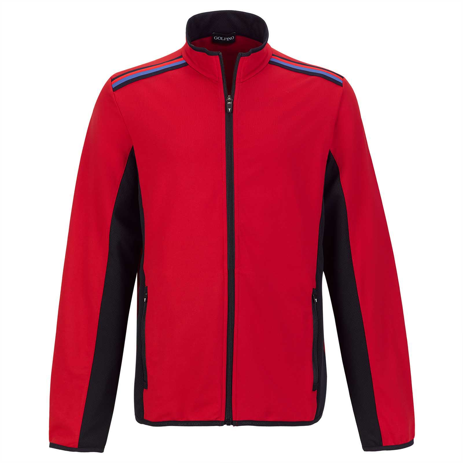 Men's comfort golf jacket with Moisture Management
