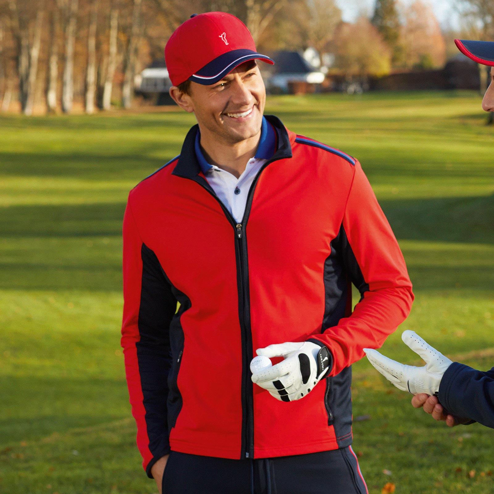 Herren Komfort-Golfjacke mit Moisture Management