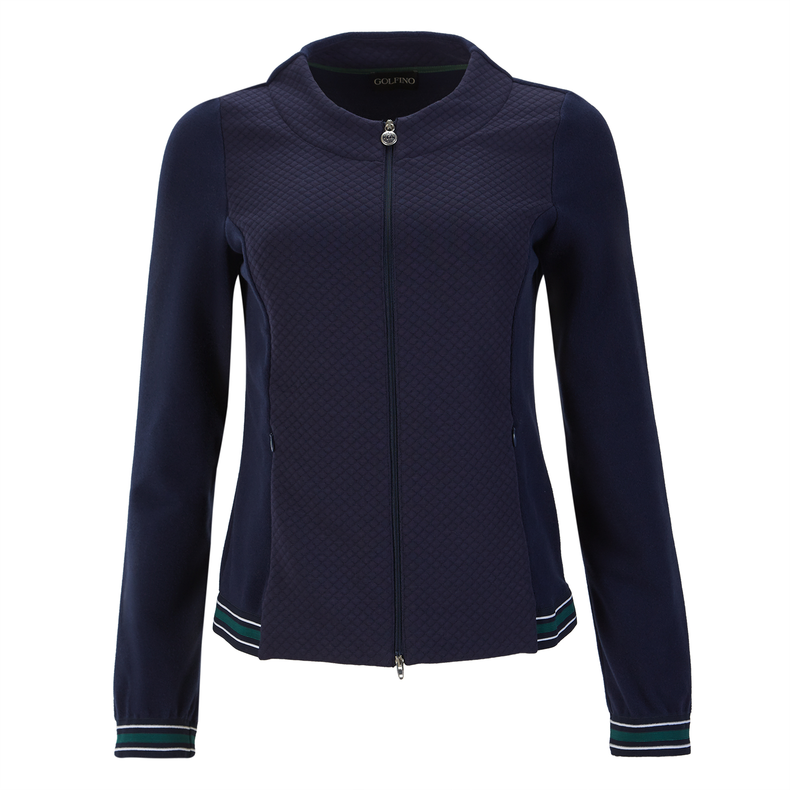 Damen Cold Protection Golfjacke mit Fleece-Einsätzen