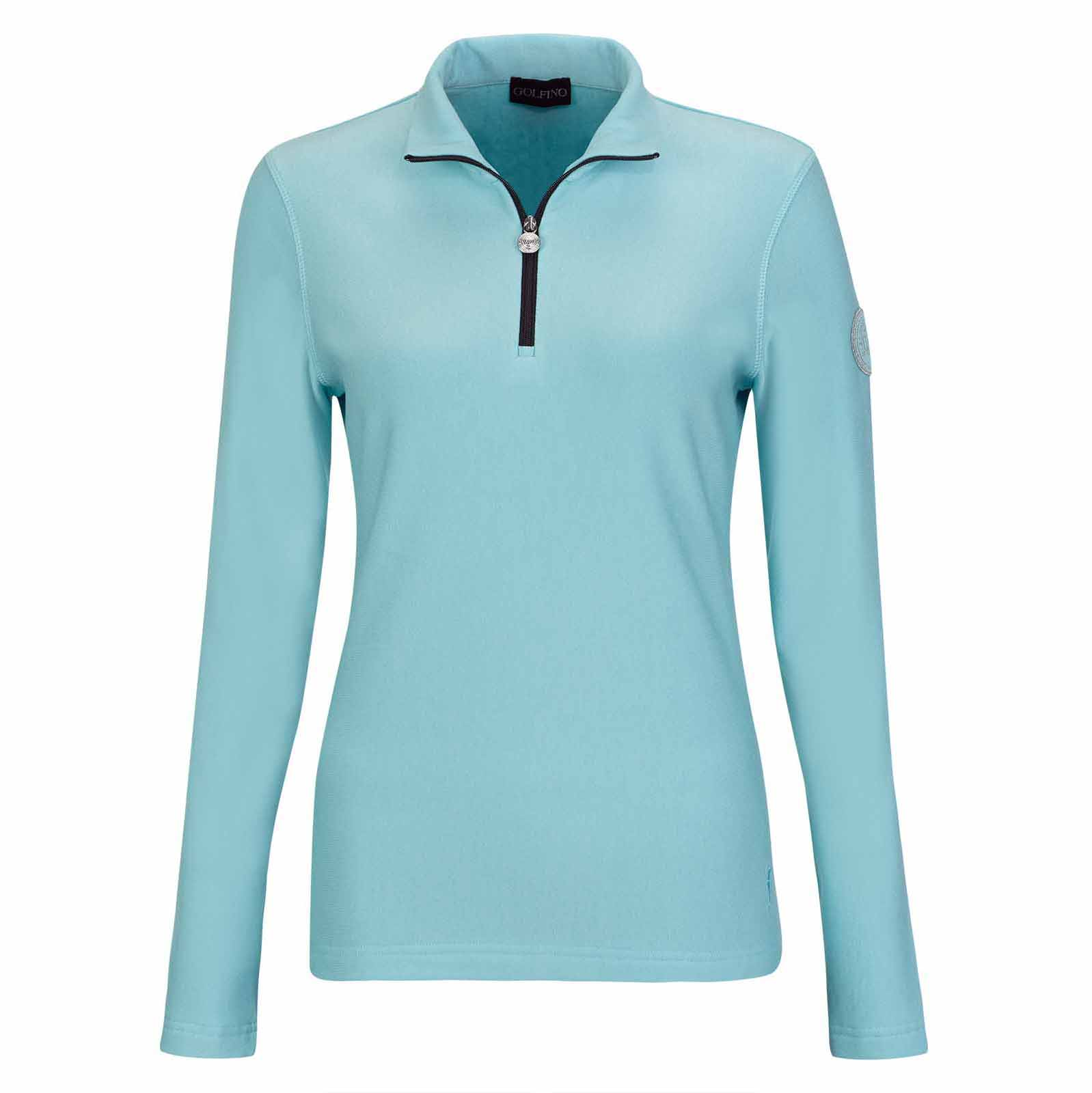 Ladies techno wool sweatshirt with Cold Protection function