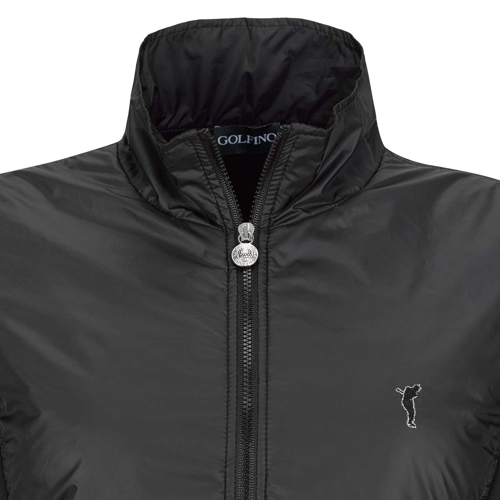 Damen Micro Stretch Polarlight Funktions-Golfjacke mit Fleece Futter