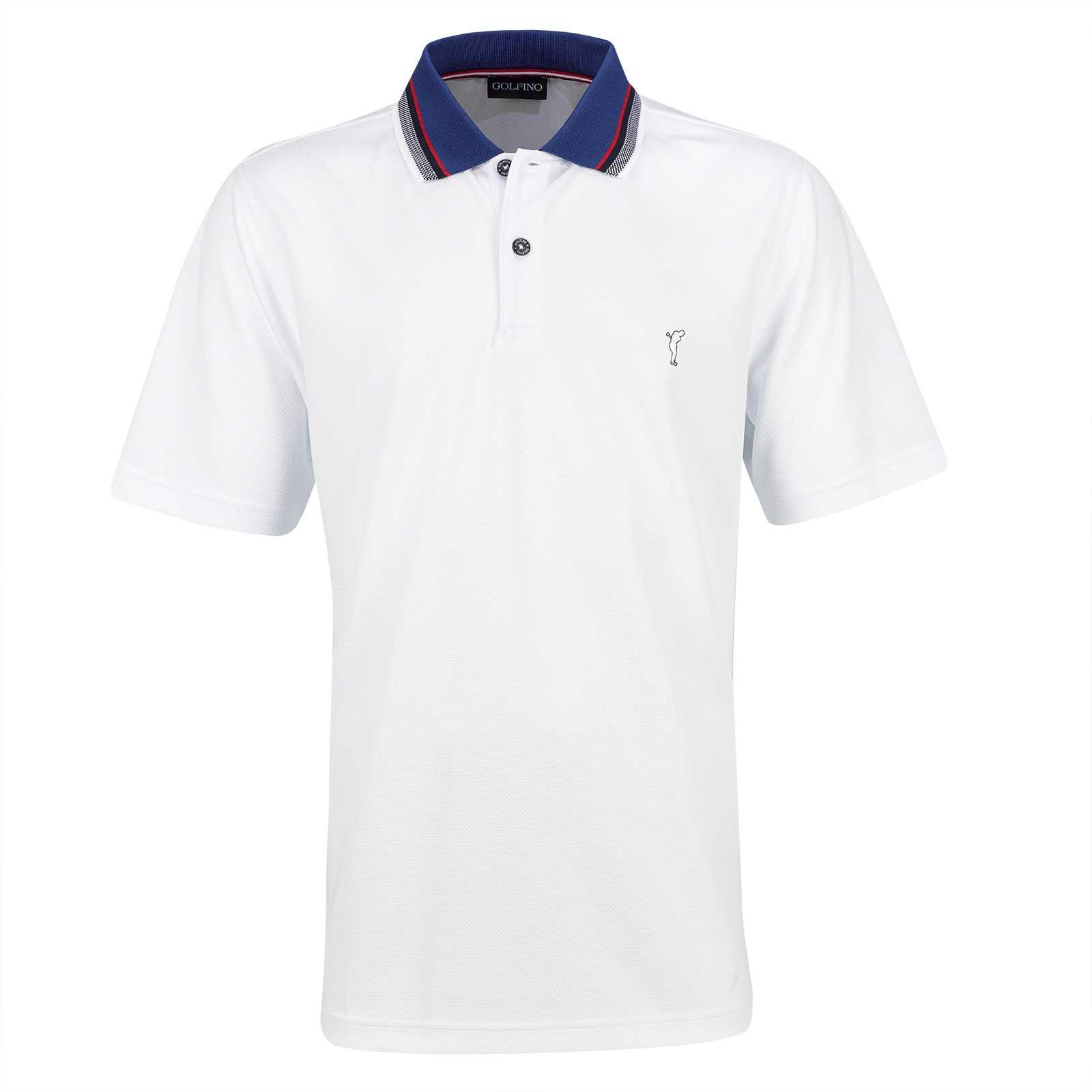 Herren Kurzarm Golfpolo aus Kafetex® Material mit Moisture Management