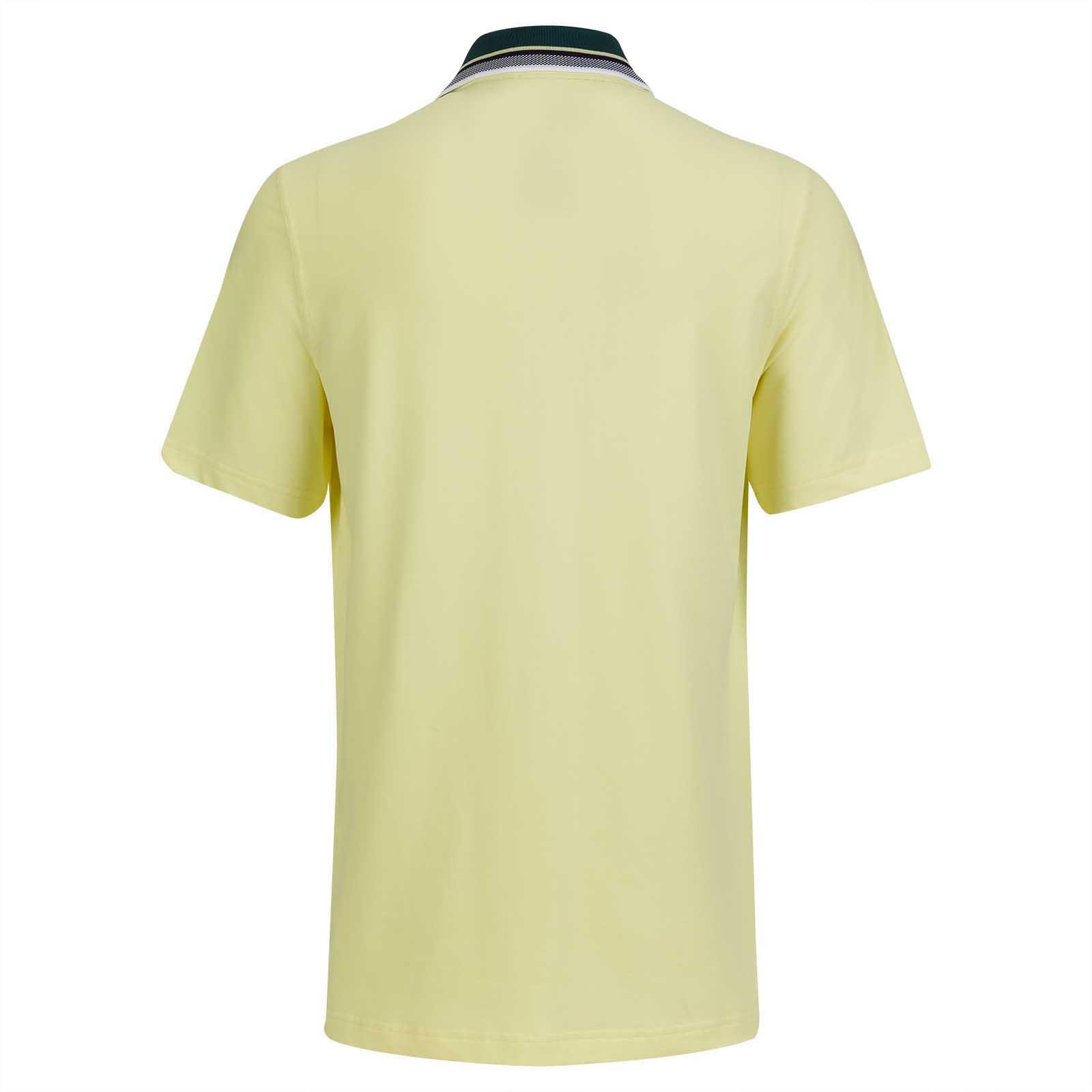 Herren Kurzarm Stretch-Polohemd mit Sun Protection